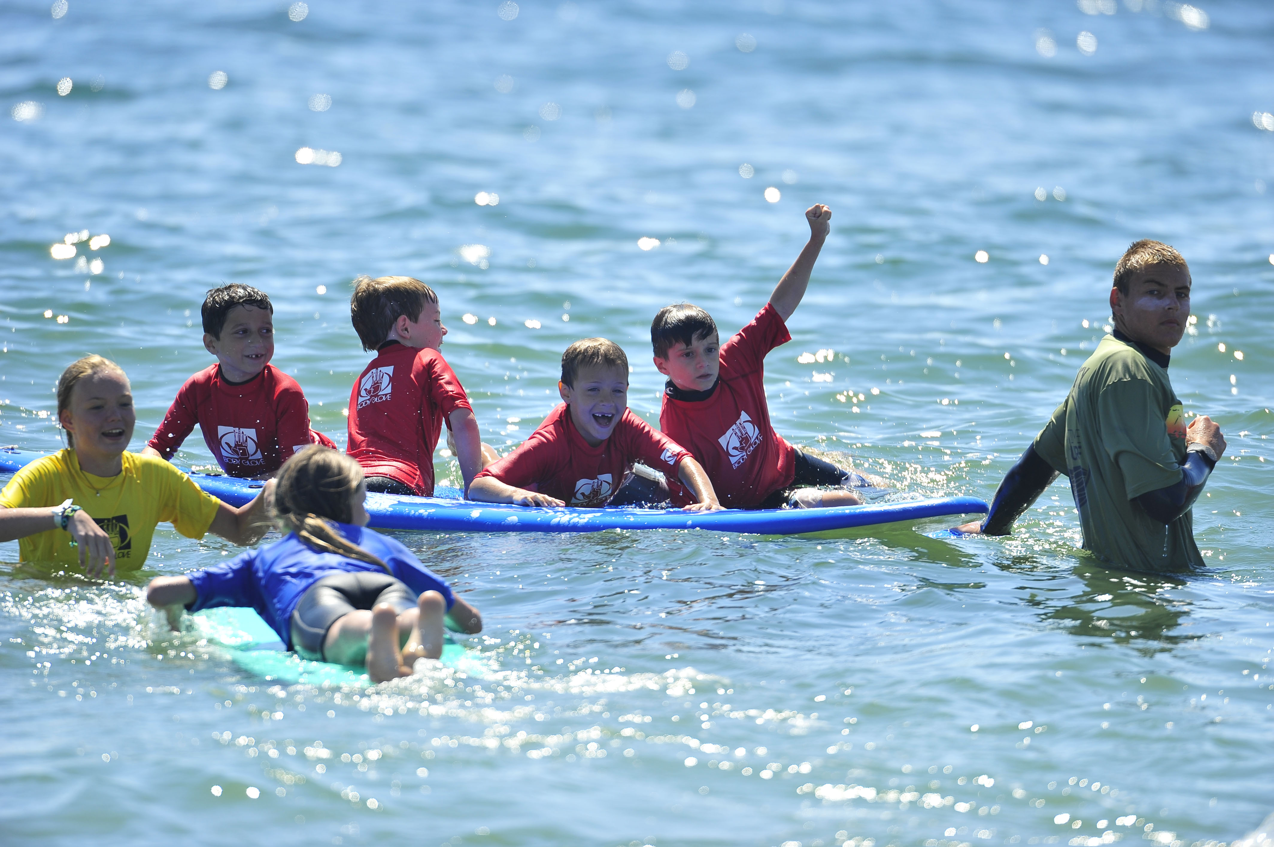 Summertime Surf & Paddle Schools surfing lessons nyc