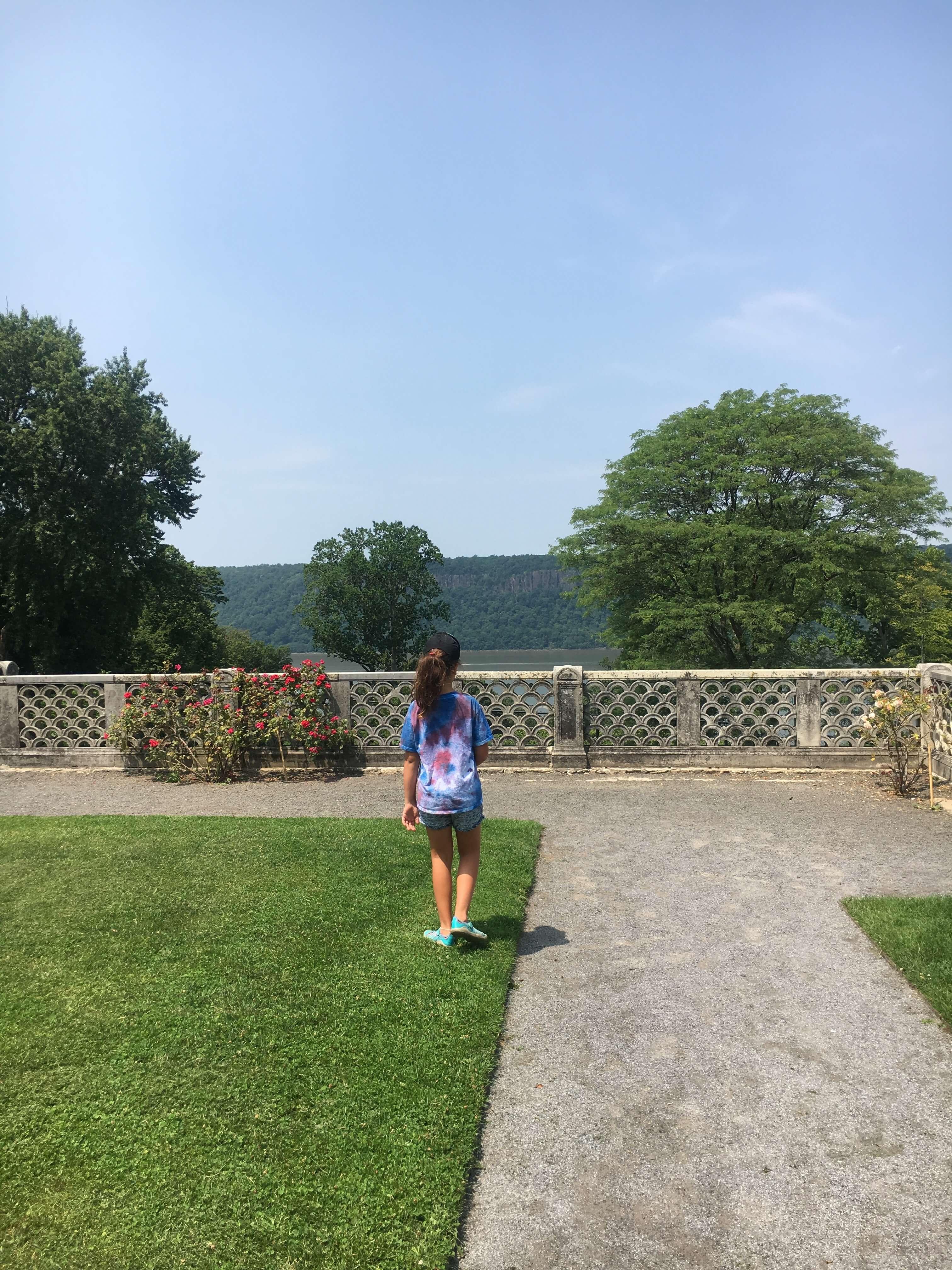 Day Trip to the Untermyer Gardens Conservatory kids