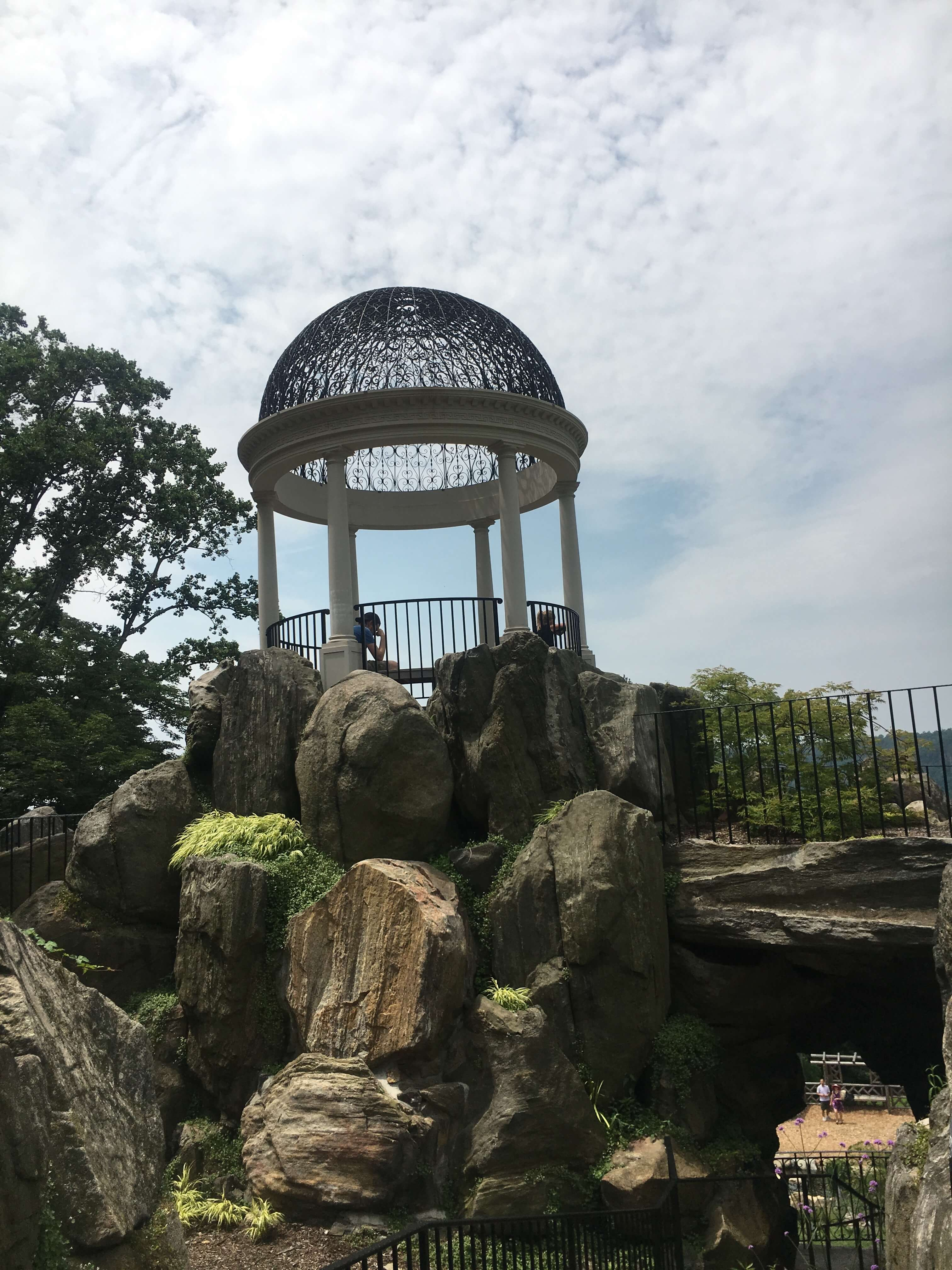 Day Trip to the Untermyer Gardens Conservatory temple of love