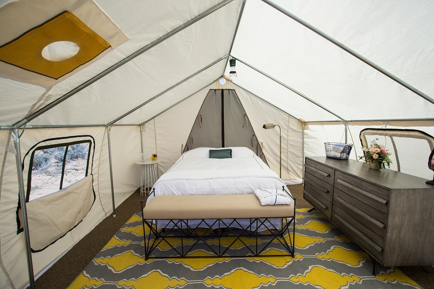 Terra Glamping experience