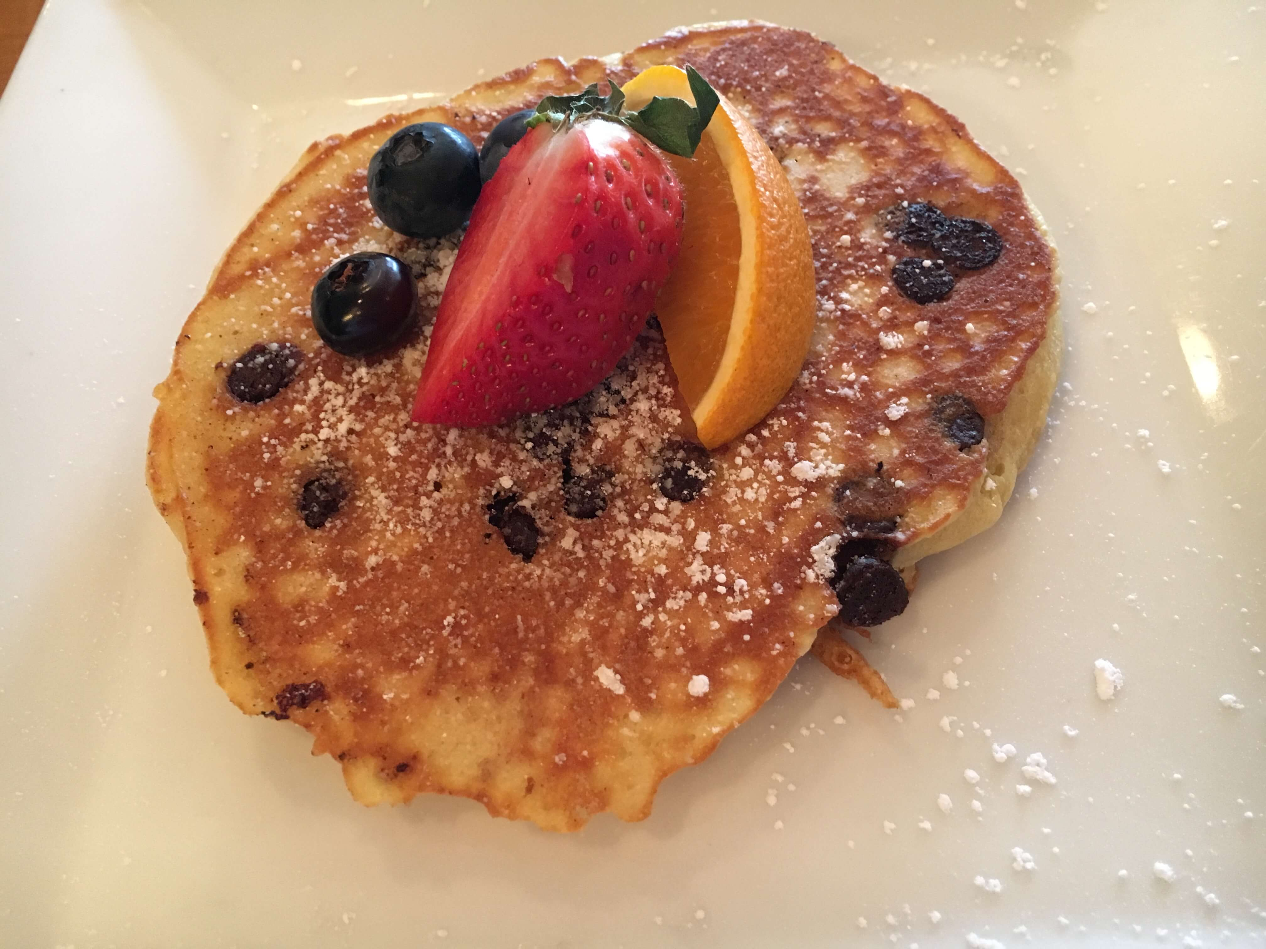 pancakes at Golden Arrow in Lake Placid for Families