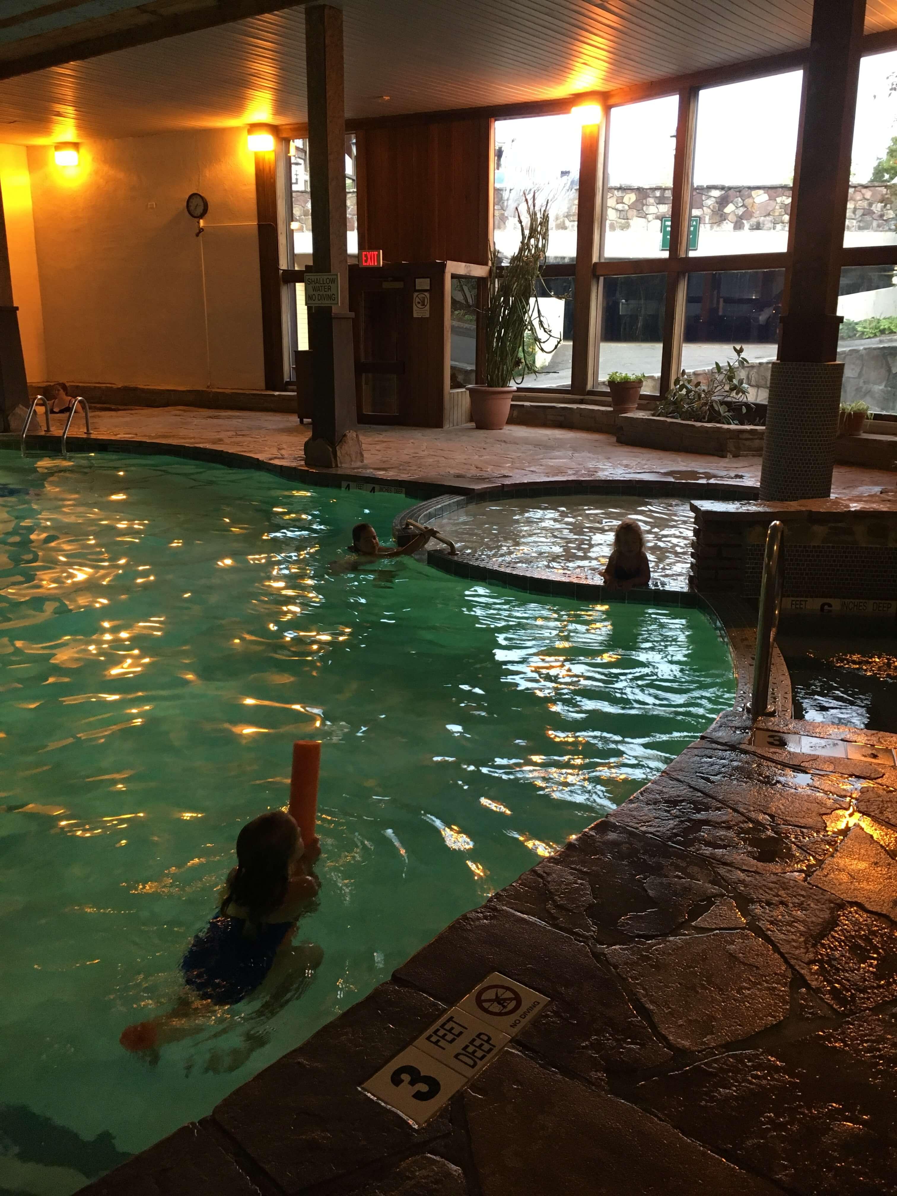 pool at golden arrow lake placid