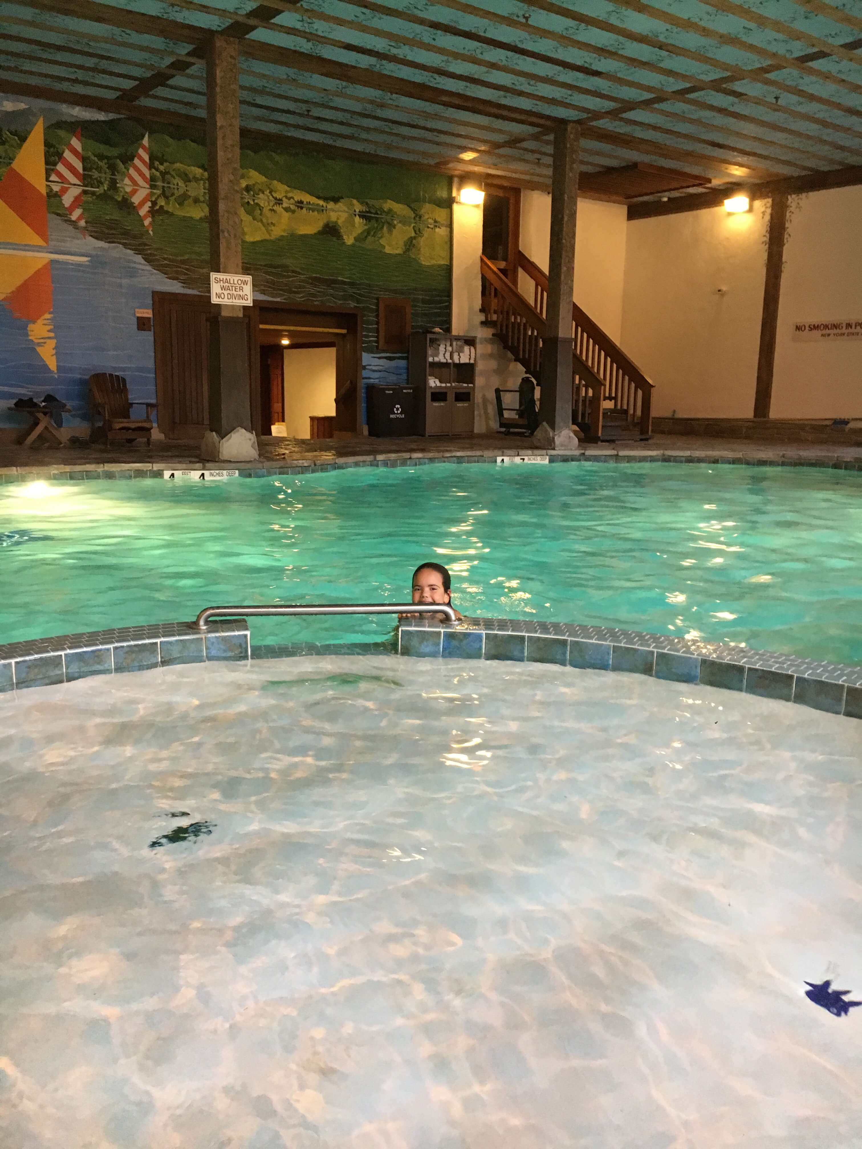 the pool Golden Arrow in Lake Placid for Families