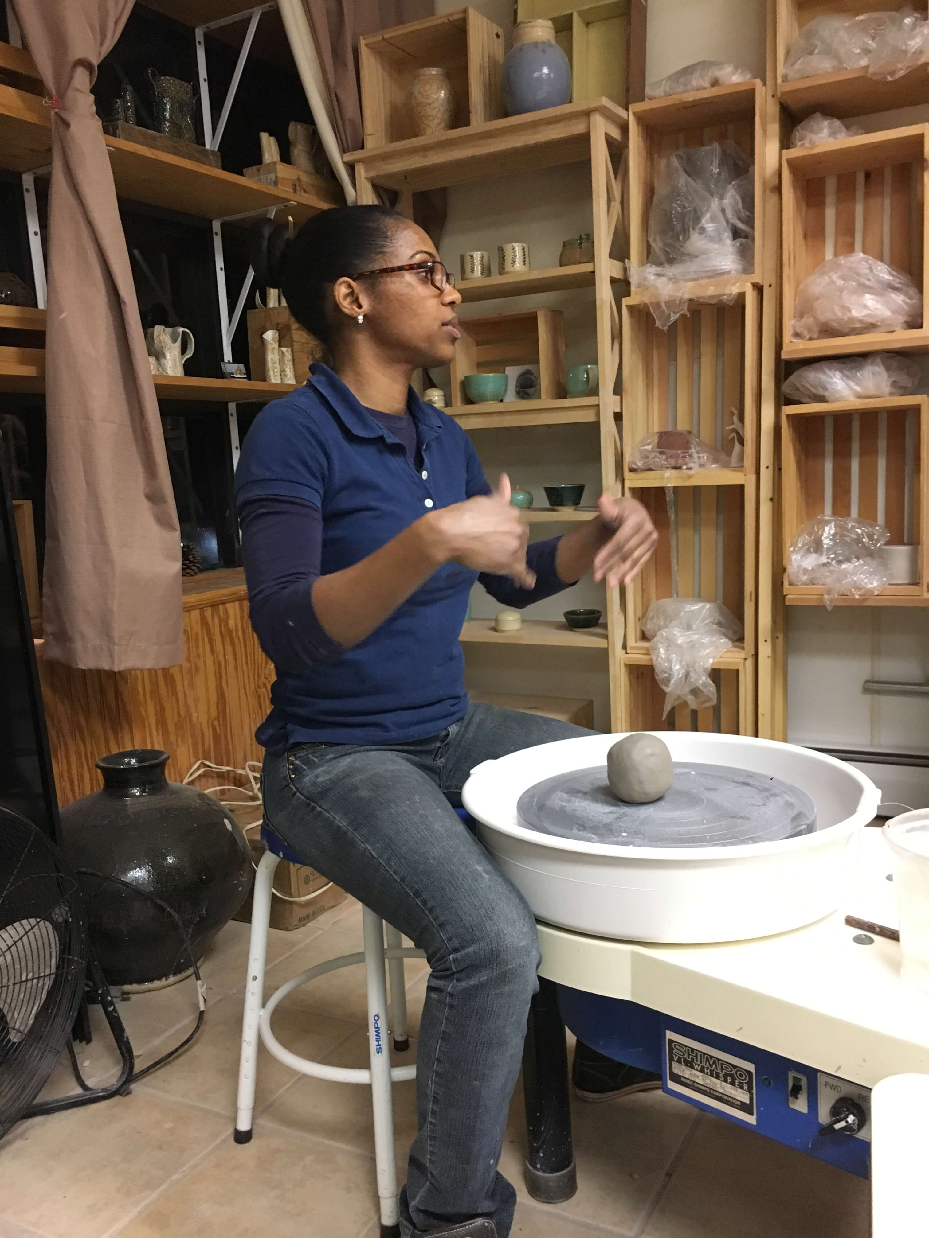 Date Night Idea: Clay Soirée at the Yonkers Pottery Studio instructor-led