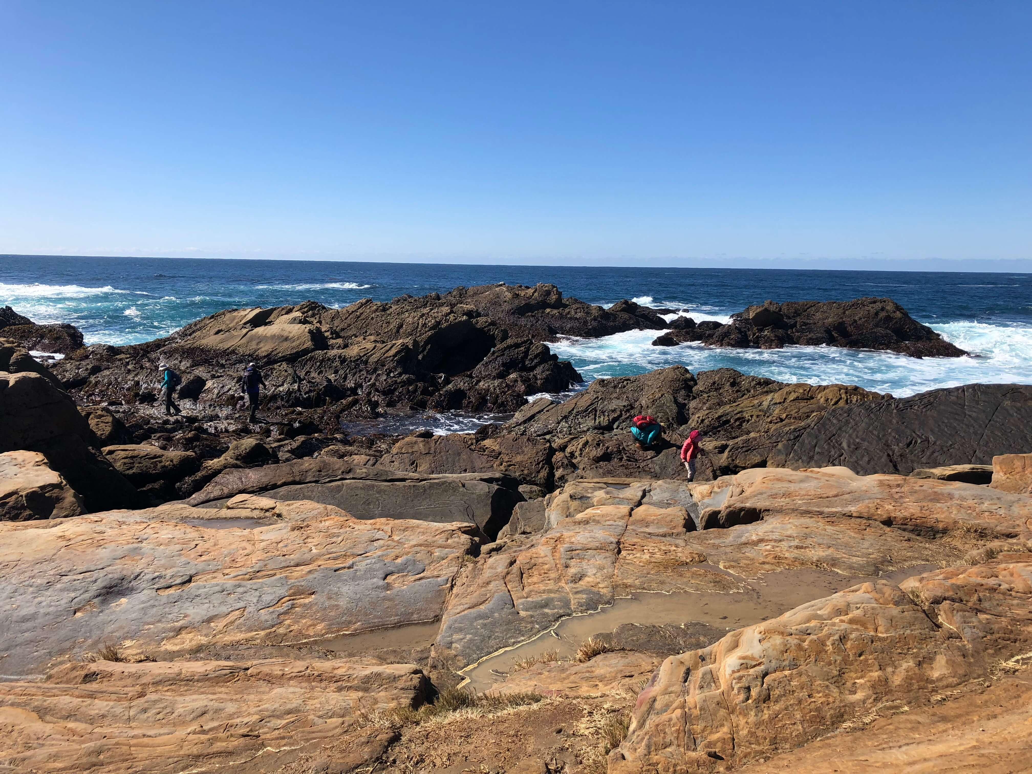 carmel-by-the-sea point lobos state reserve rocks
