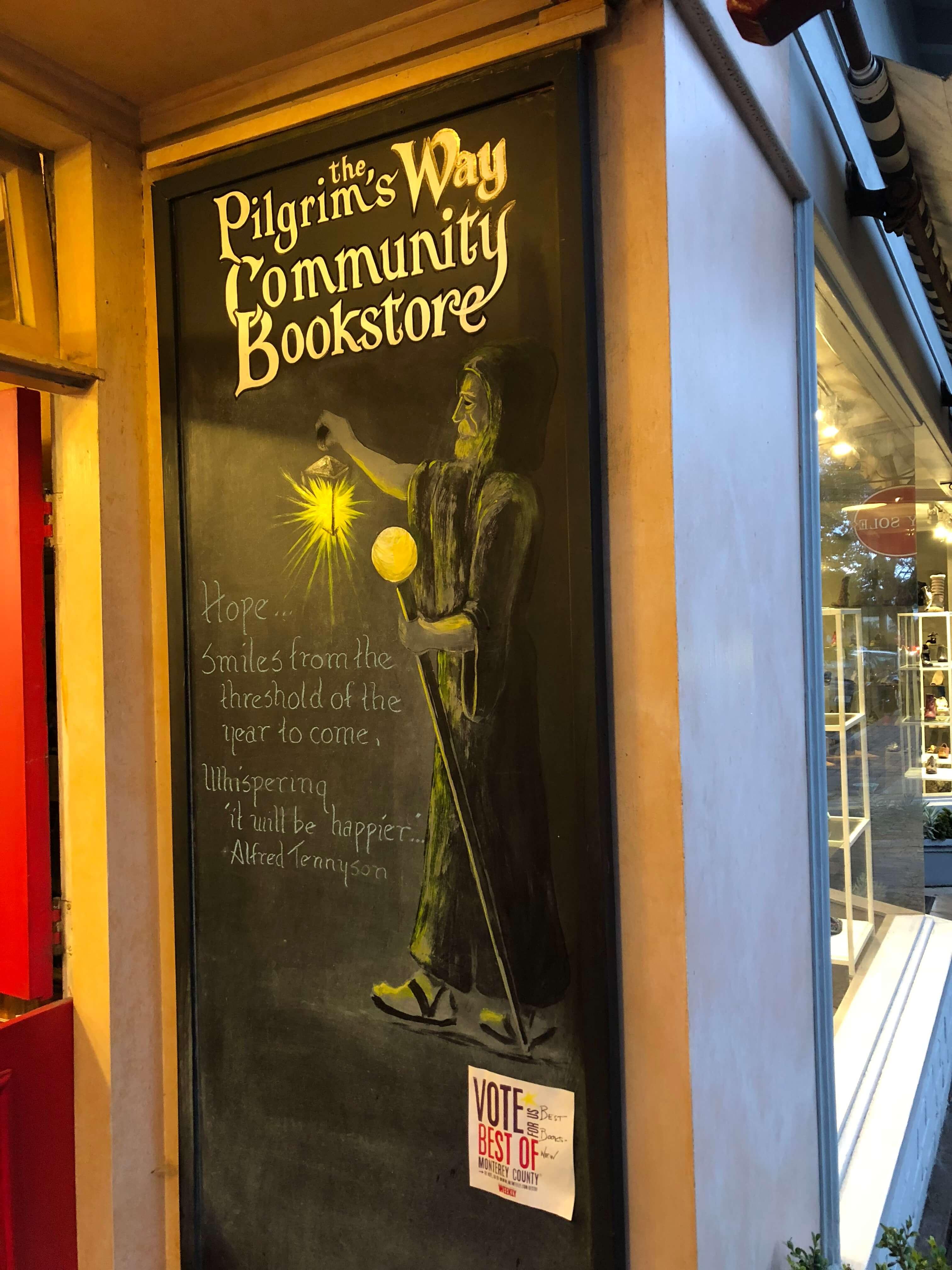 bookstore in carmel-by-the-sea