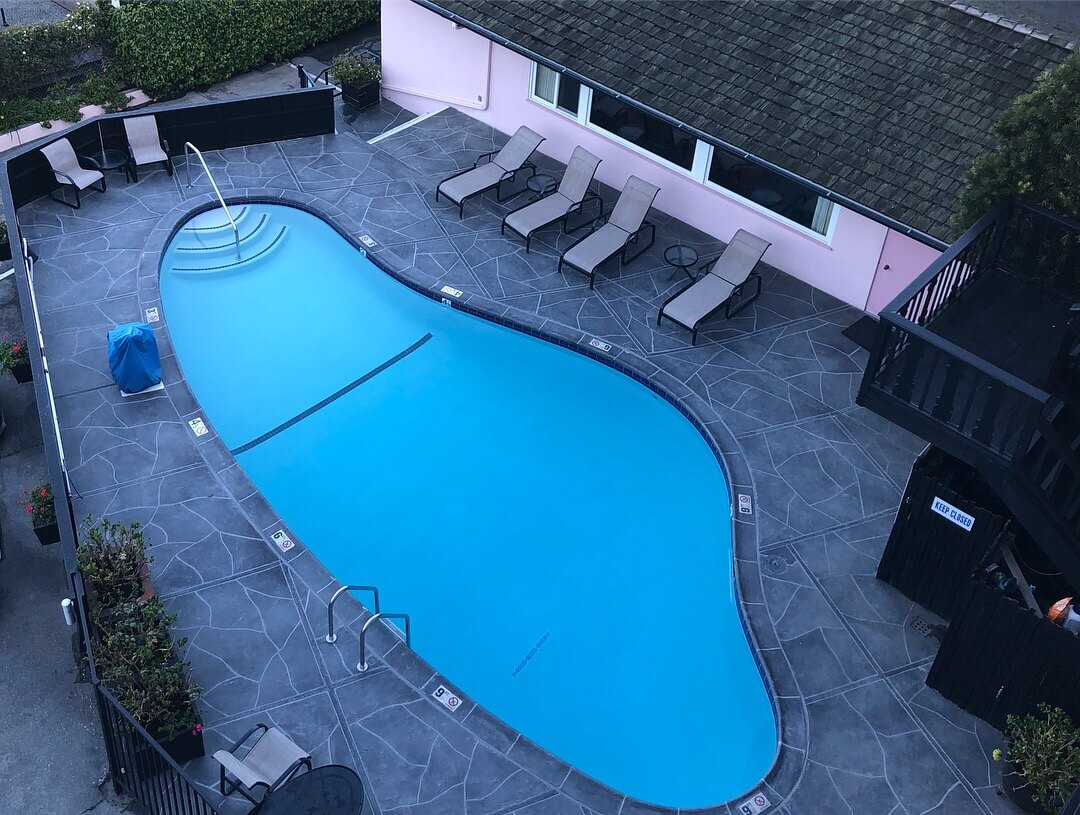 Charming Accommodations at the Hofsas House Hotel heated pool