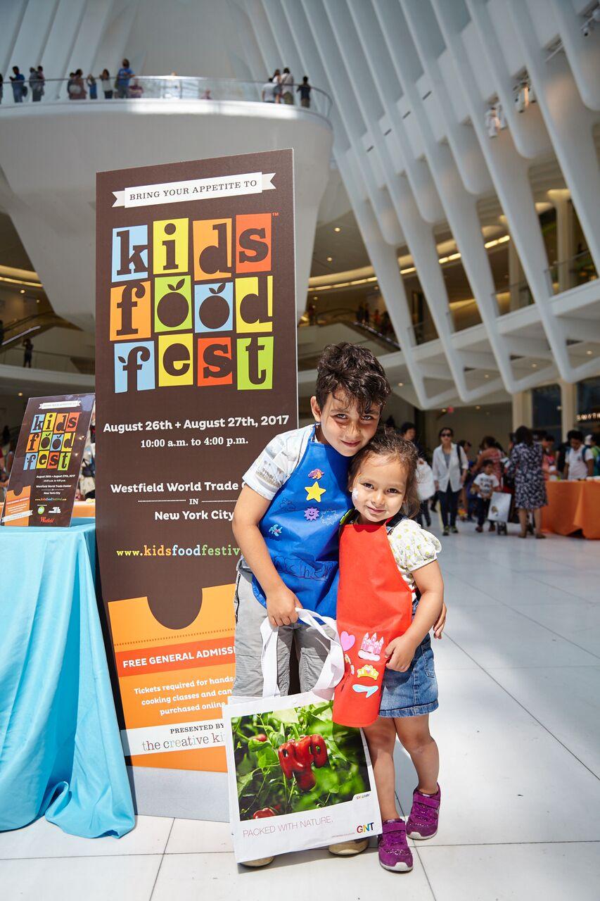 creative kids food festival in New York City