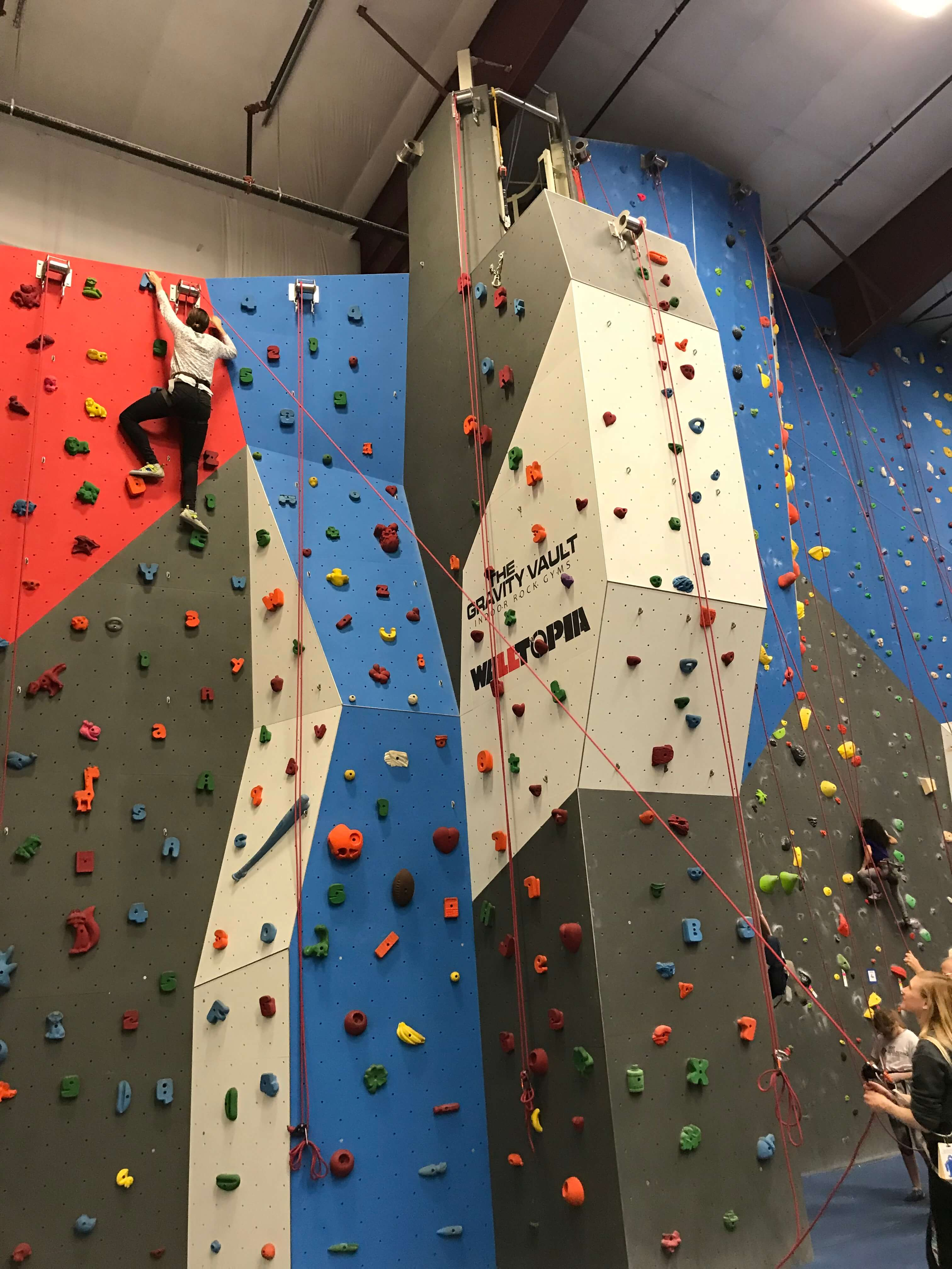 the Gravity Vault in dutchess county mom