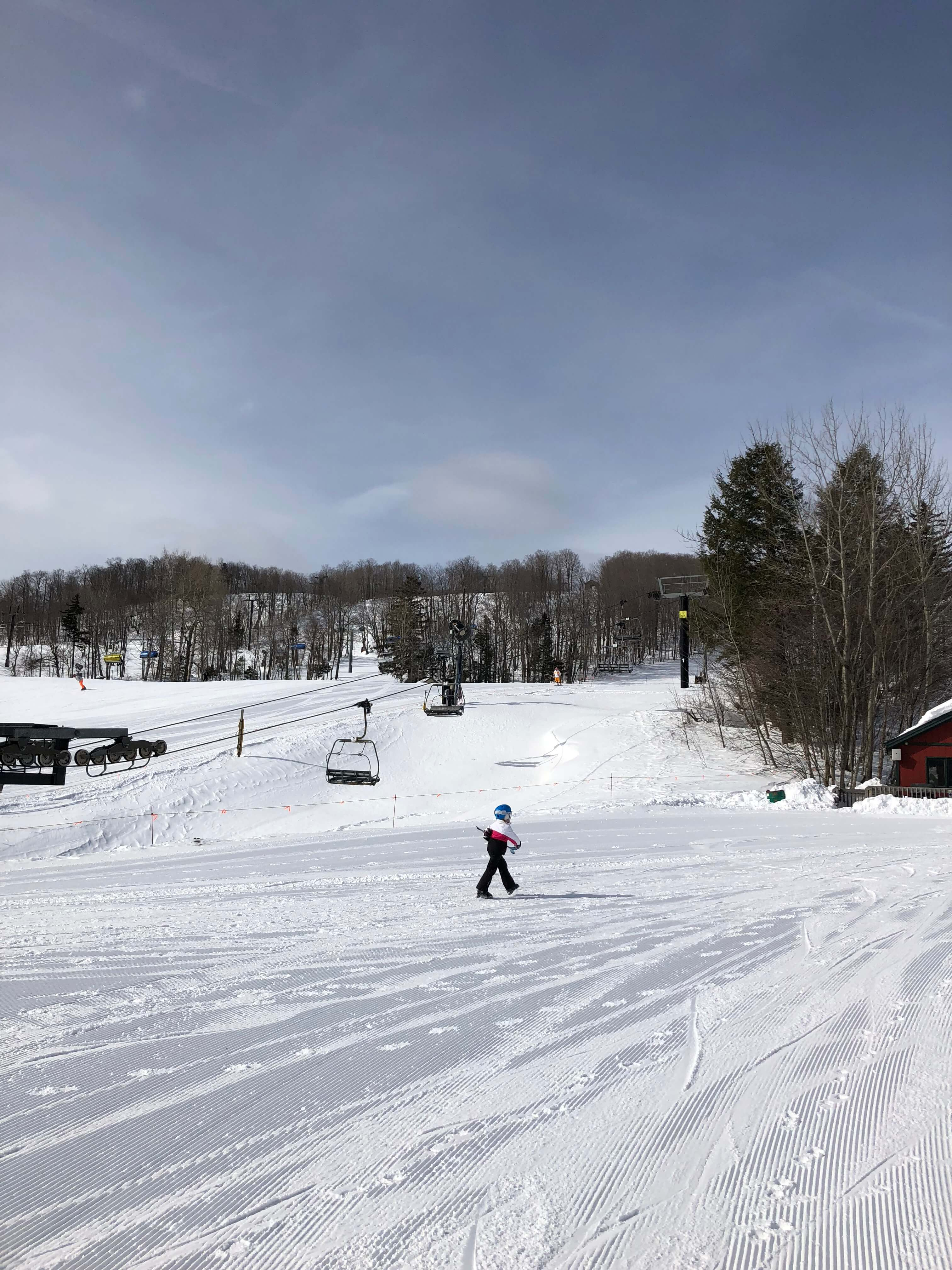 learning to ski as an adult is an adventure vermont