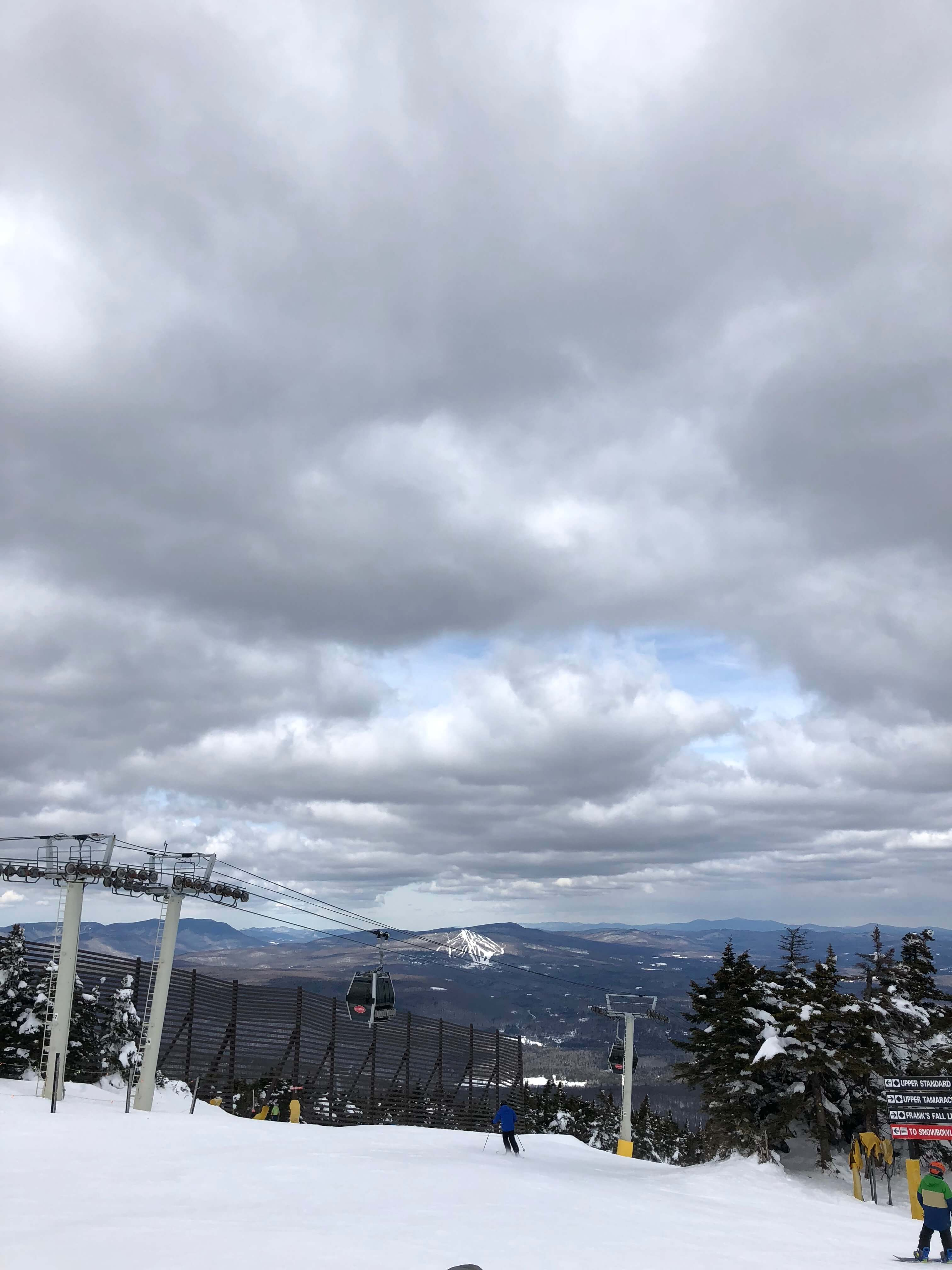 learning to ski as an adult in vermont
