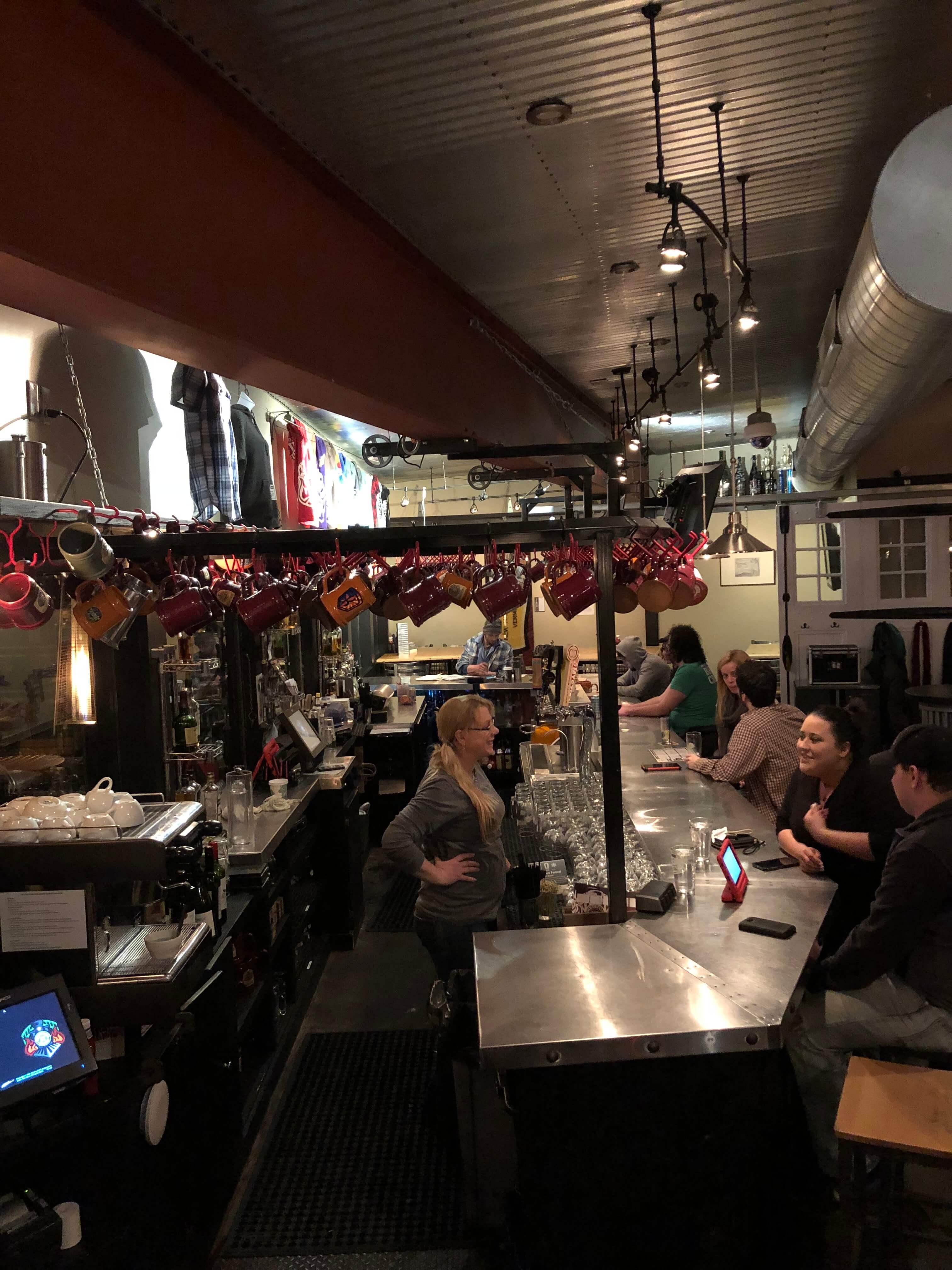 Whetstone Station bar