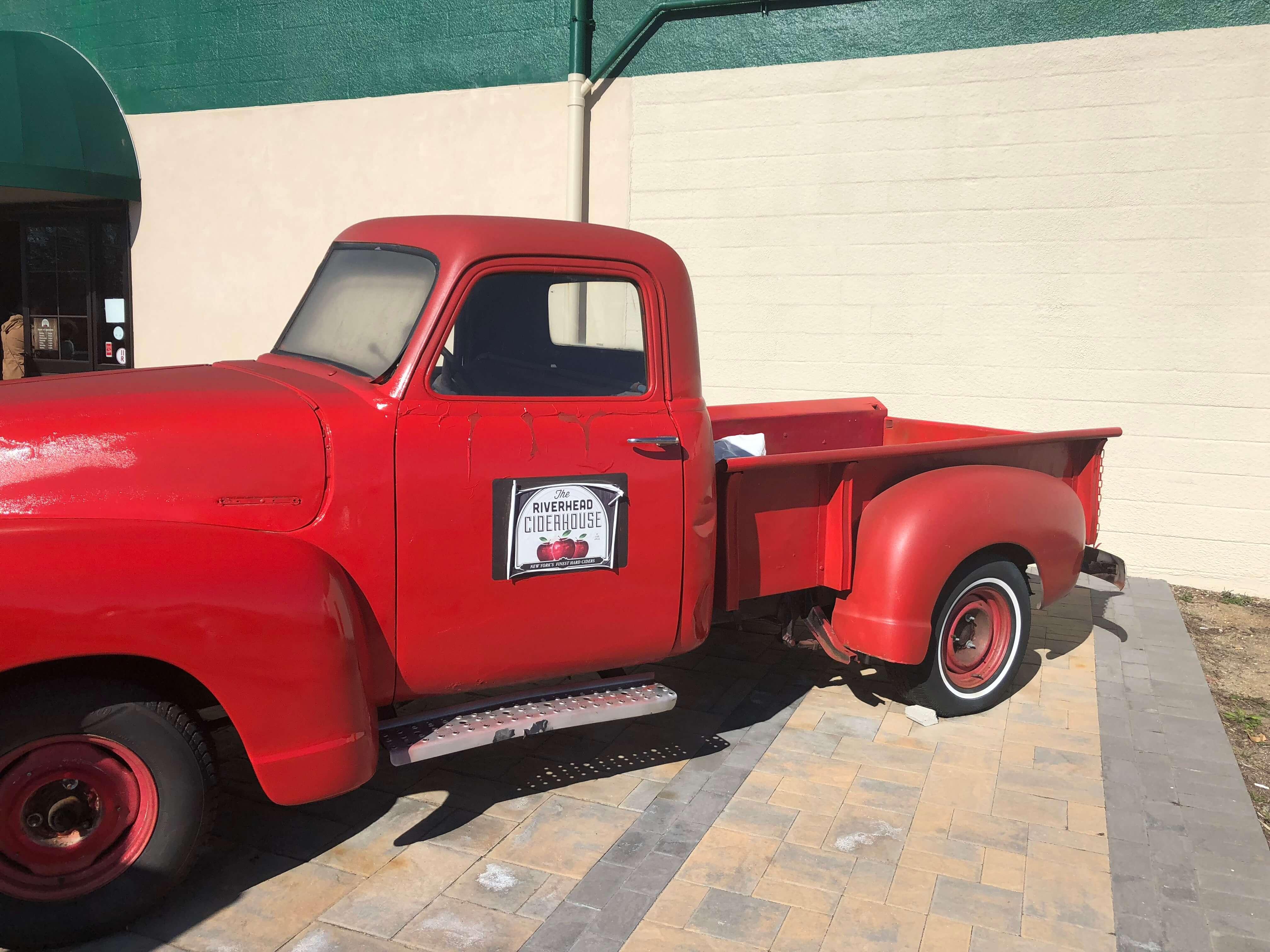 red car The Riverhead Ciderhouse