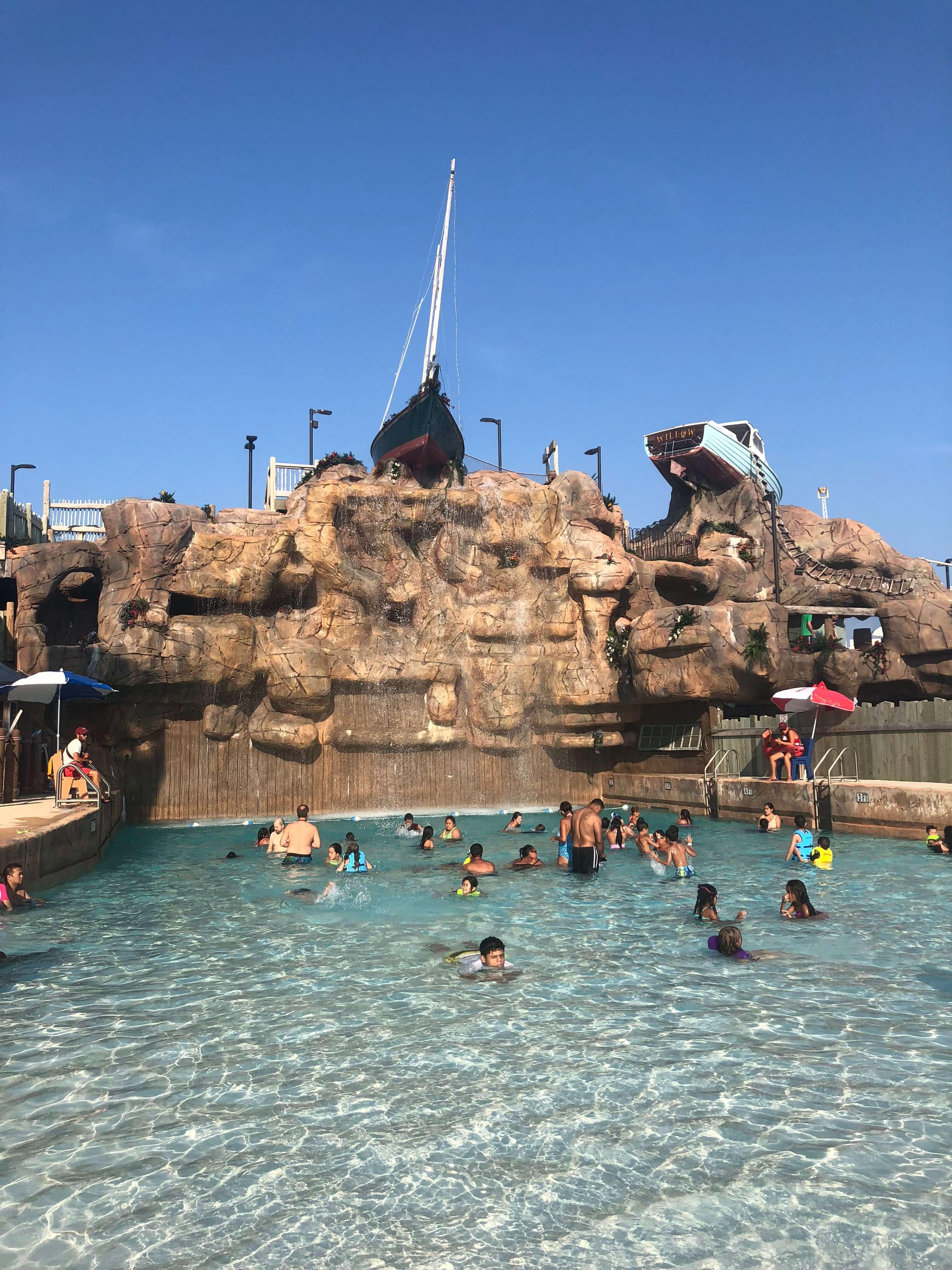 wave pool Casino Pier Breakwater Beach