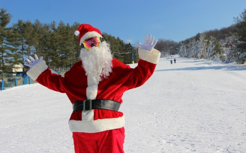 Holiday Events from Pennsylvania Ski Resorts Santa Claus