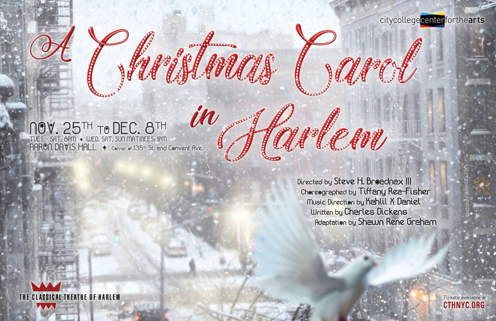 A Christmas Carol in Harlem Performance
