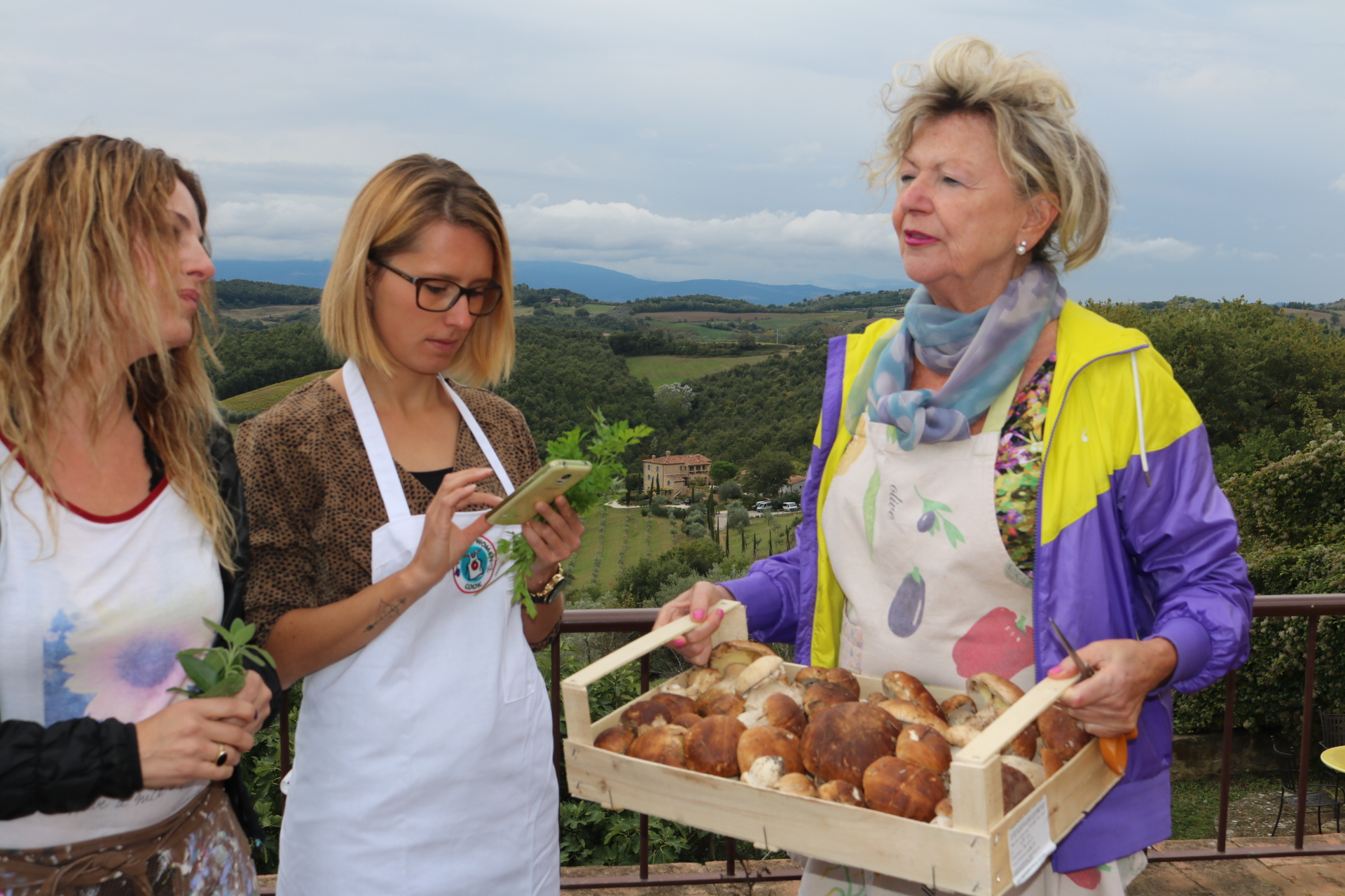 Interview withTuscan Women Cook:
