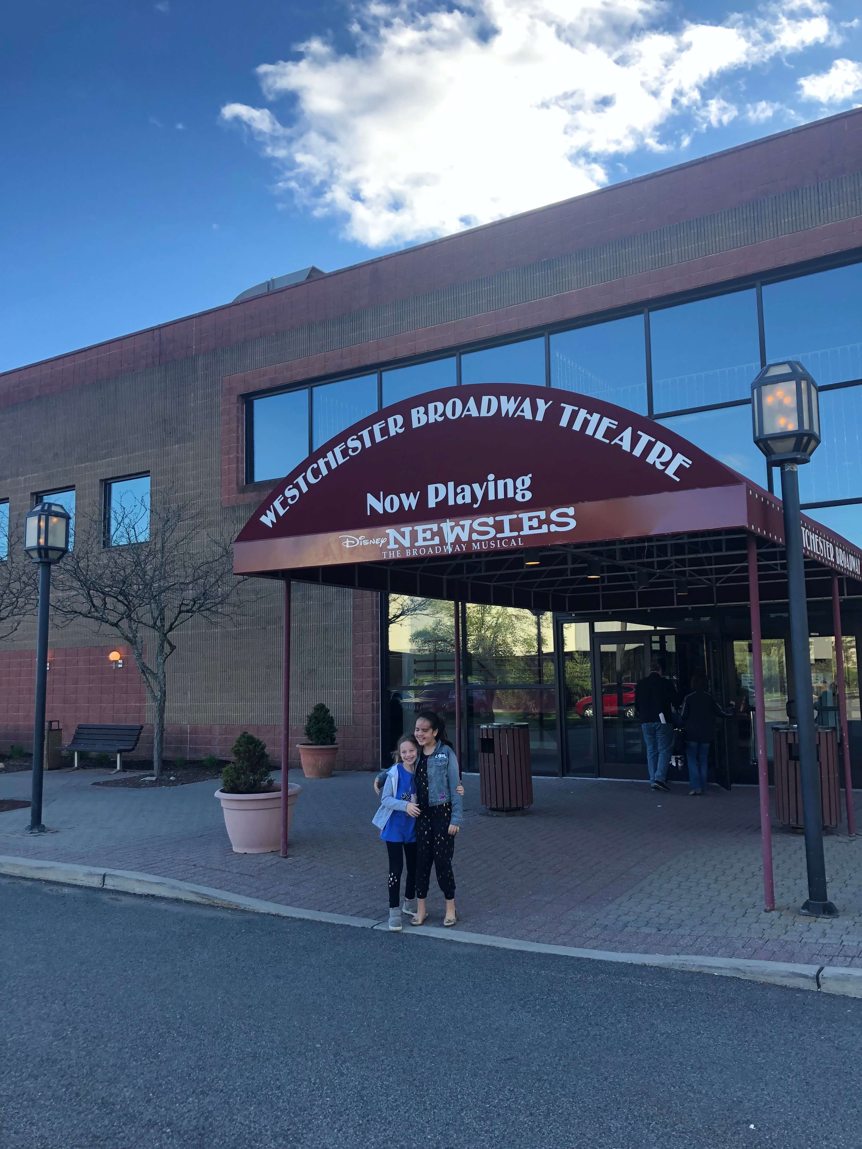 best of 2019 newsies at the Westchester Broadway Theater