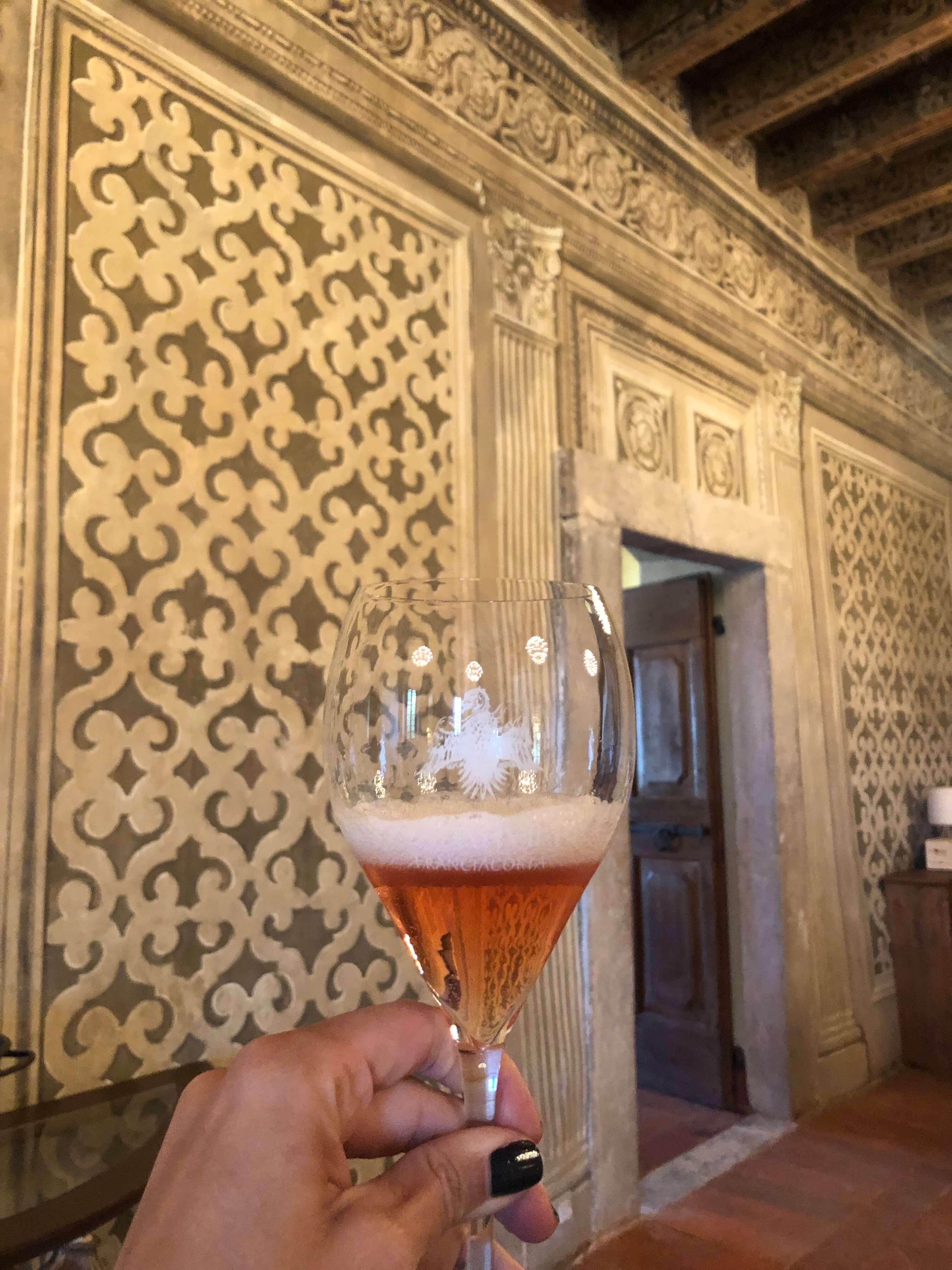lo spaviere Franciacorta wine region