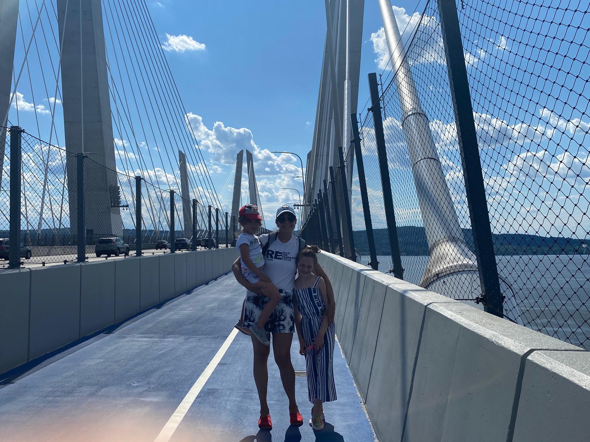 Governor Mario M. Cuomo Bridge Path-walk