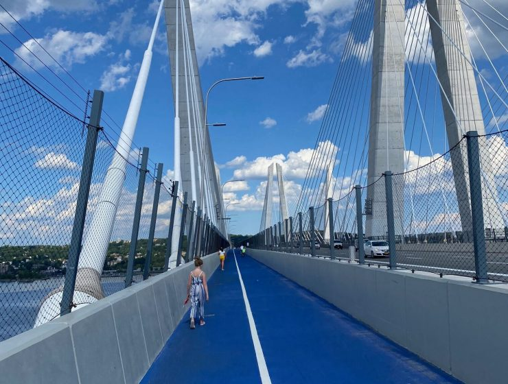 Exploring the Governor Mario M. Cuomo Bridge Path