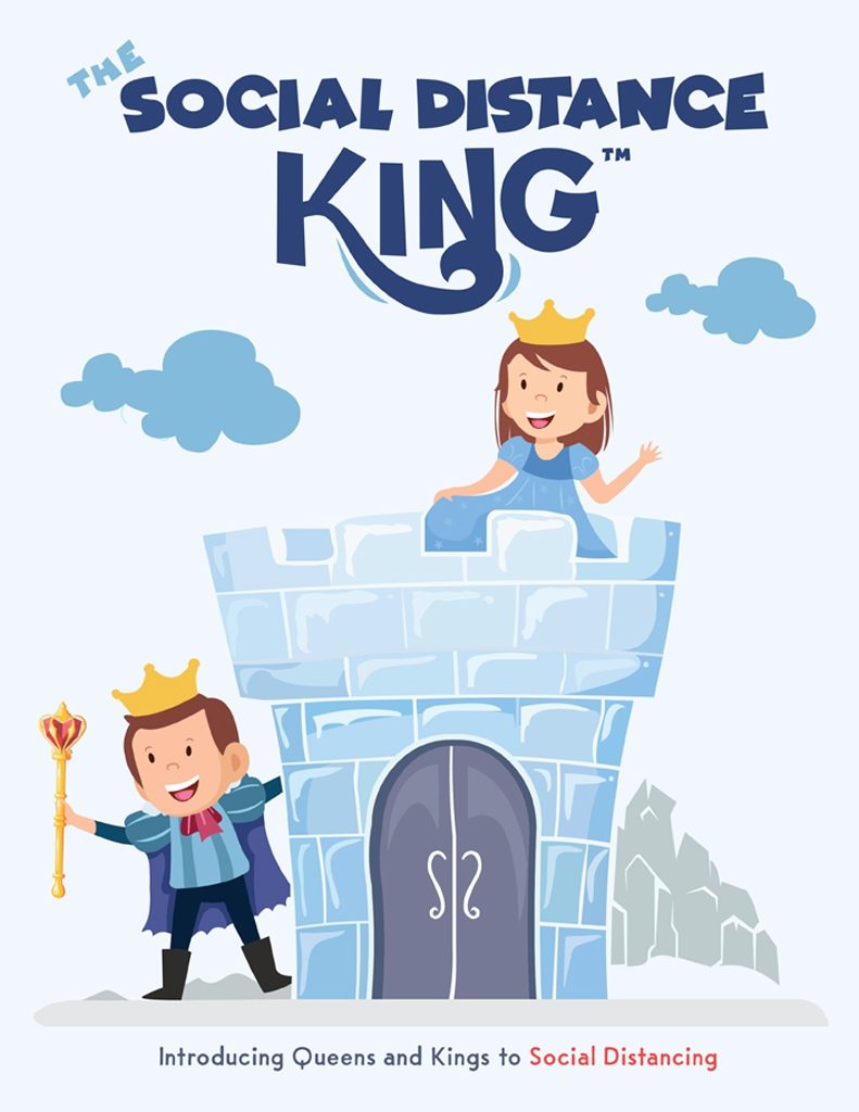 The Social Distance King Books for Kids