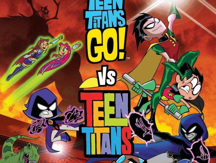 Teen Titans Go! Vs. Teen Titans.