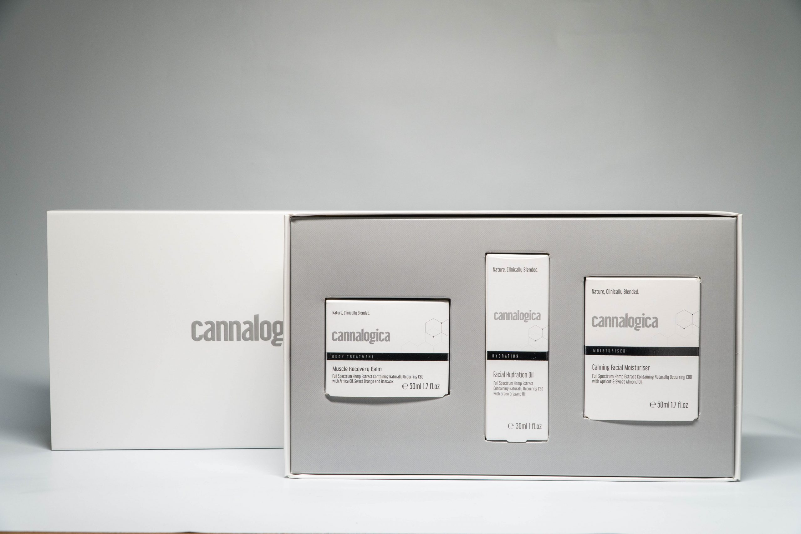 Cannalogica skincare line