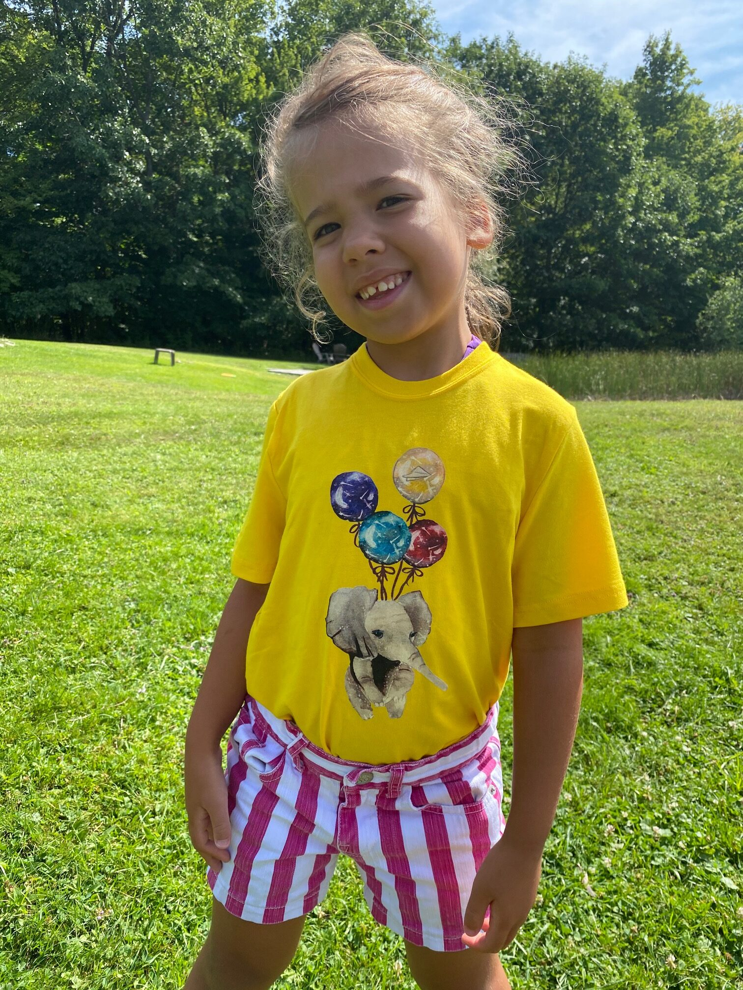 living loudly tees for kids