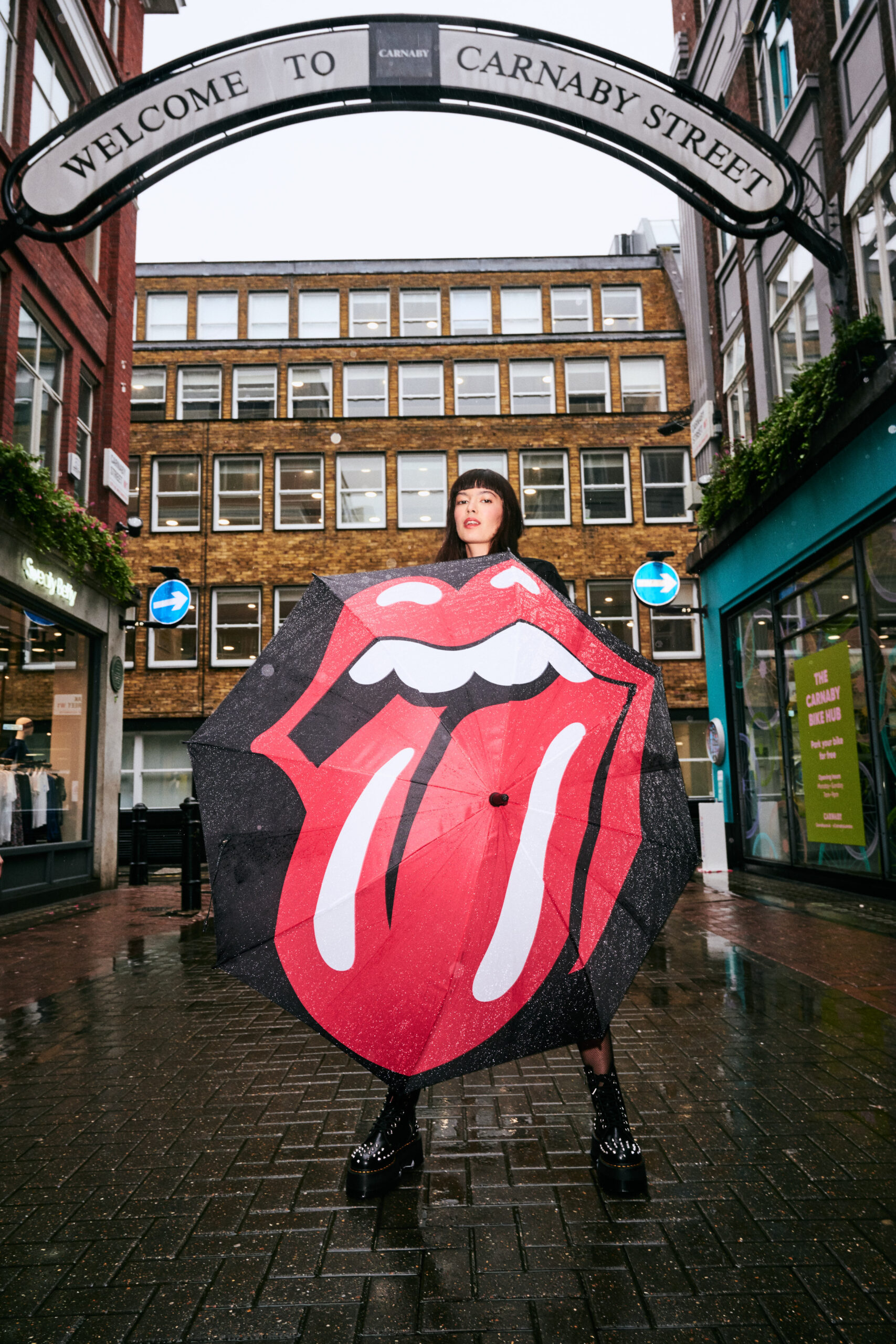 Rock 'n' roll legends, the Rolling Stones will be opening a new flagship store, 'RS No. 9 Carnaby' at 9 Carnaby Street in London's Soho.