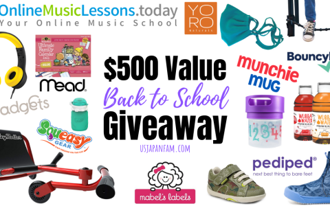 back to school giveaway $500 value