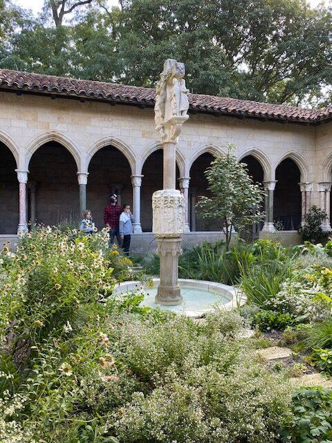 Met cloisters gardens