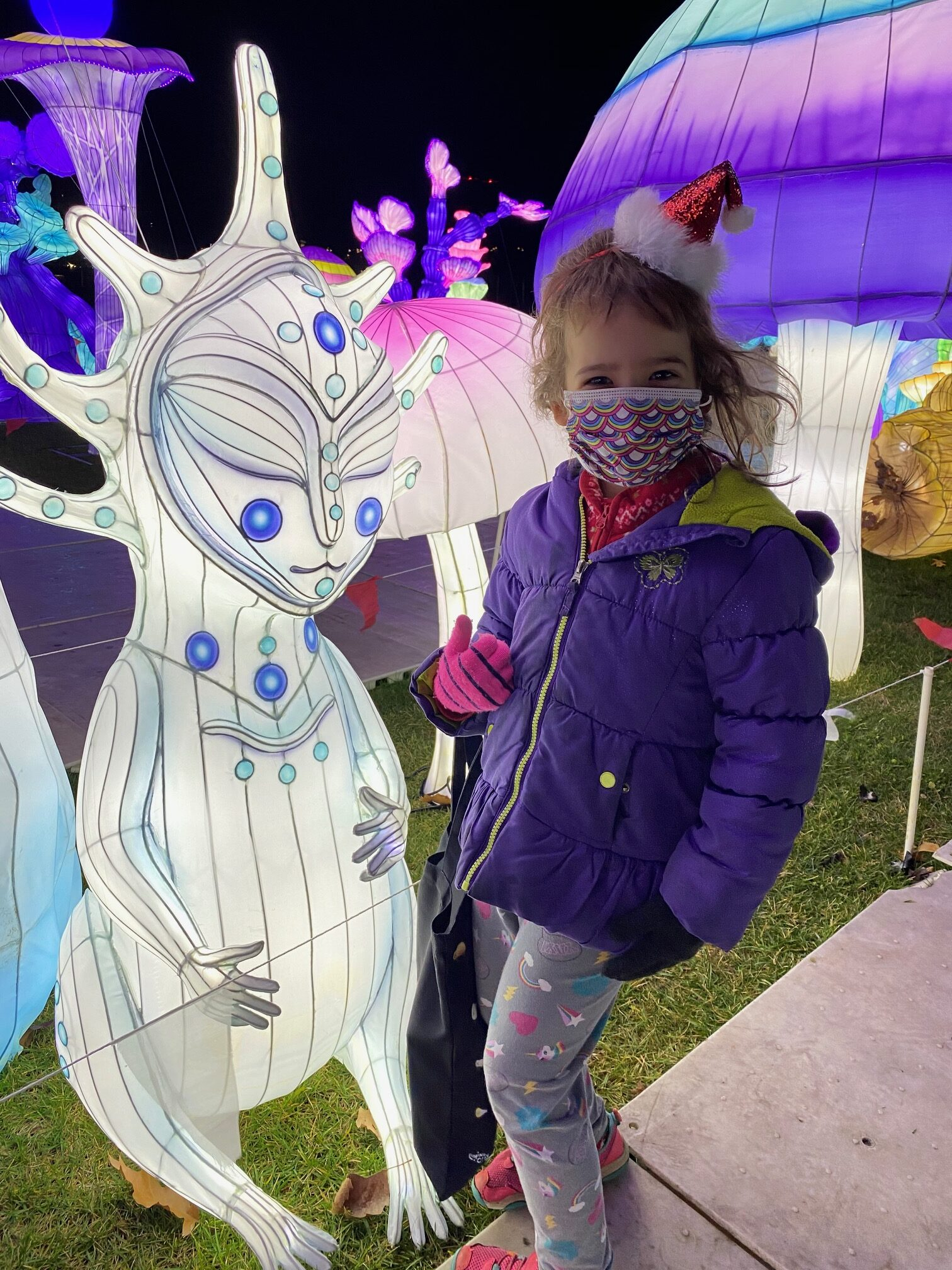 Enter the Magical World of the LuminoCity Festival kids