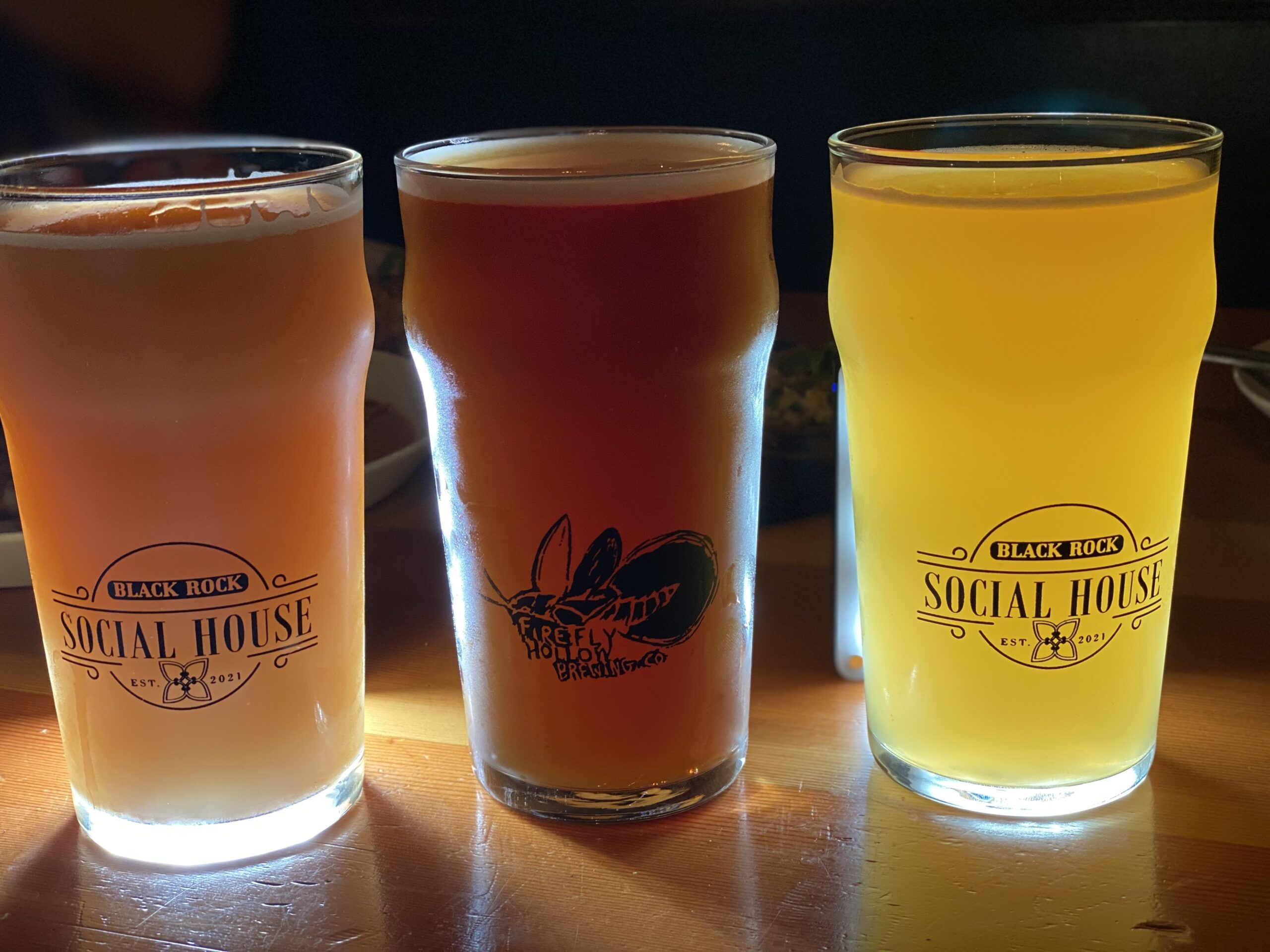 Black Rock Social House gluten-free beer