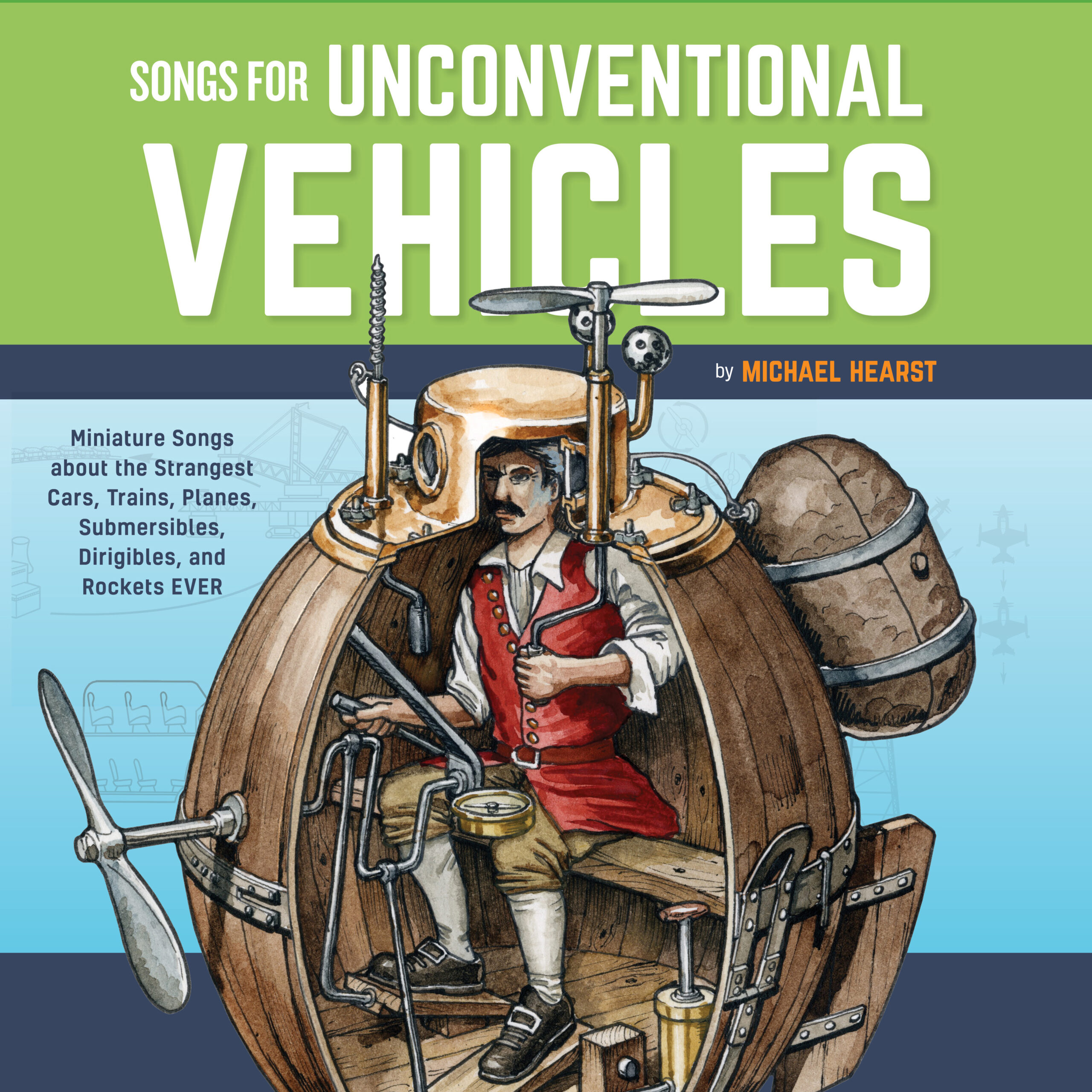 Brooklyn's Michael Hearst Releases New Album & Book, Songs for Unconventional Vehicles