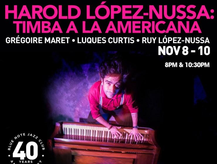 Cuban Pianist Harold López-Nussa at the Blue Note Jazz Club