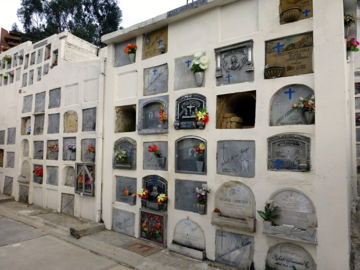 Bogota, Usaquen, cemetery