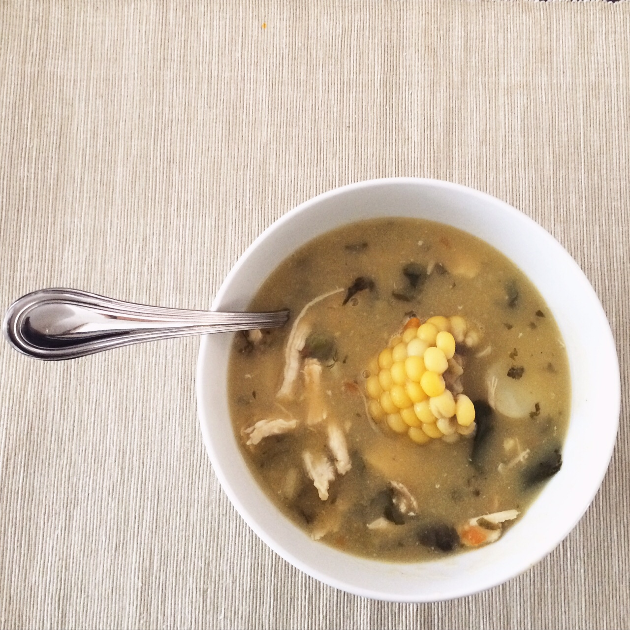 Ajiaco, a Colombian soup   TheWeekendJetsetter.com