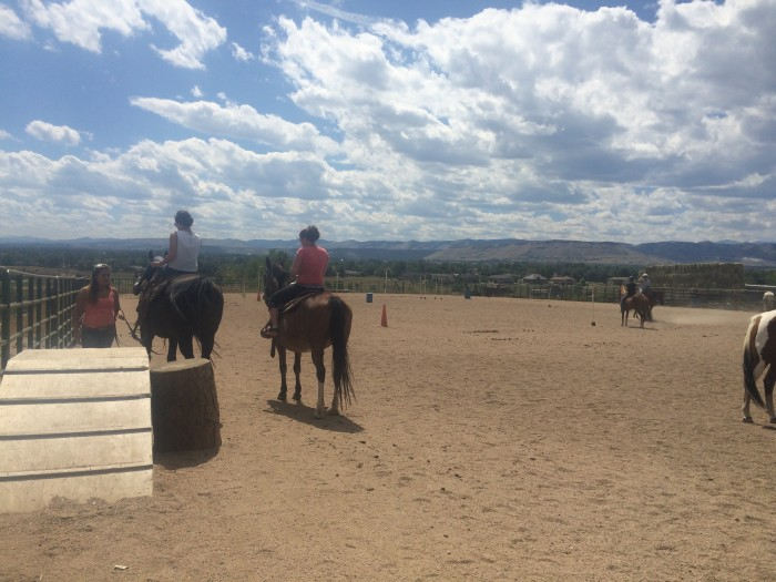 Horseback riding in Arvata, Colorado