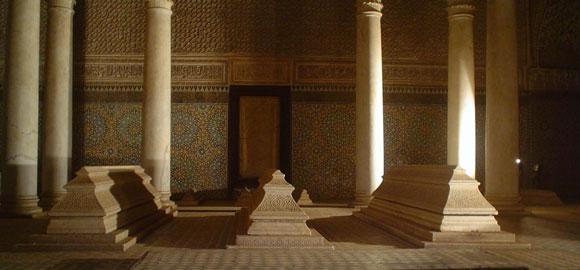 Saadien Tombs, Marrakech