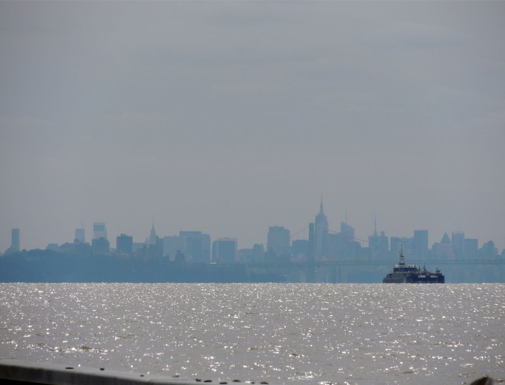 View of NYC Skyline from the Hudson River | TheWeekendJetsetter.com