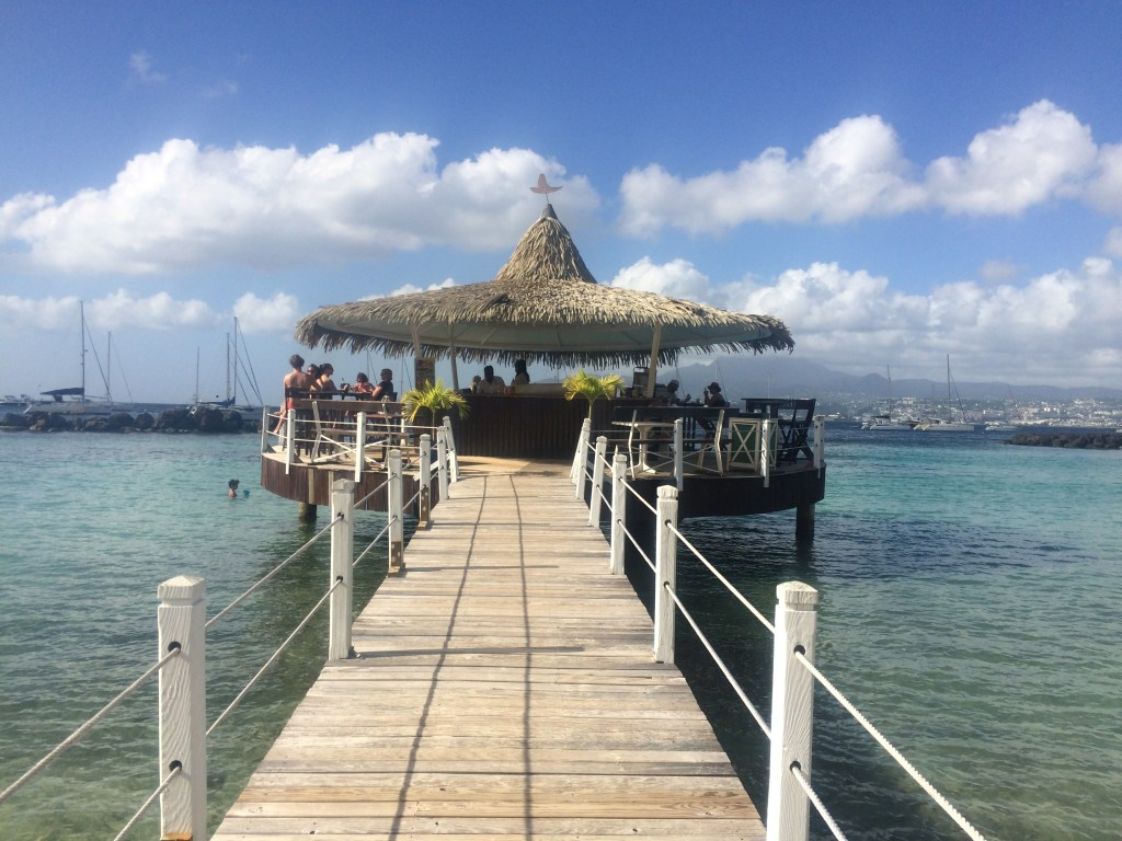72 Hours in Trois-Ilets, Martinique - the Coco Bar at Hotel Bakoua | TheWeekendJetsetter.com
