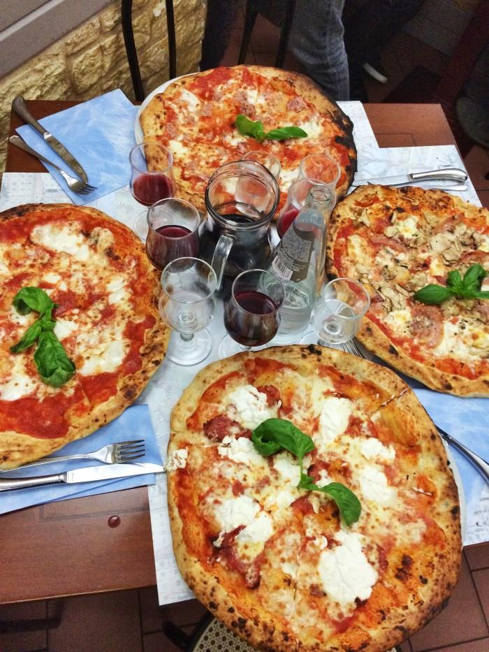 Spacca Napoli Pizza in Bologna, Italy
