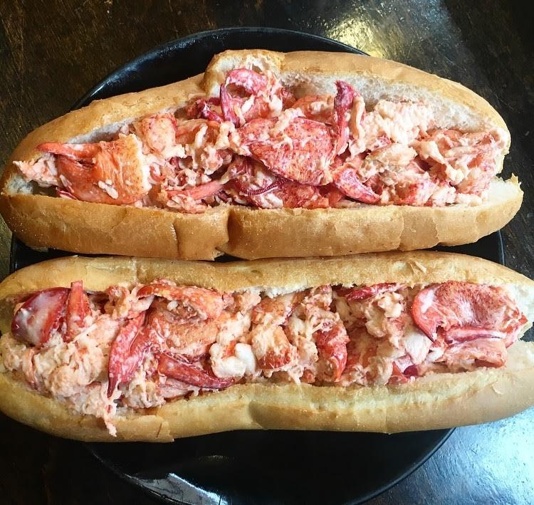 "6 Hidden Gems of Boston: Pauli's ""Lobstitution"" Lobster Roll | TheWeekendJetsetter.com"