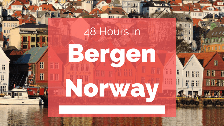 48 Hours in Bergen, Norway | TheWeekendJetsetter.com