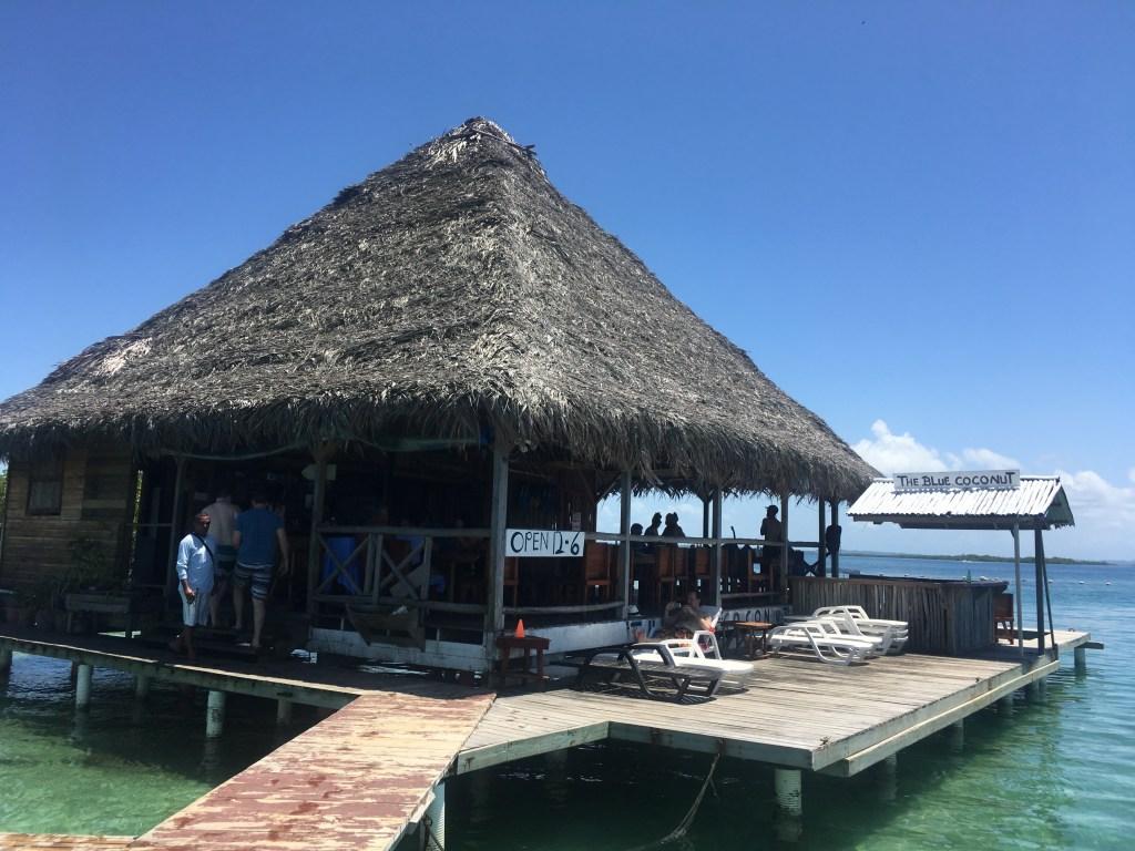 Blue Coconut - Overwater Bar in Bocas del Toro | TheWeekendJetsetter.com