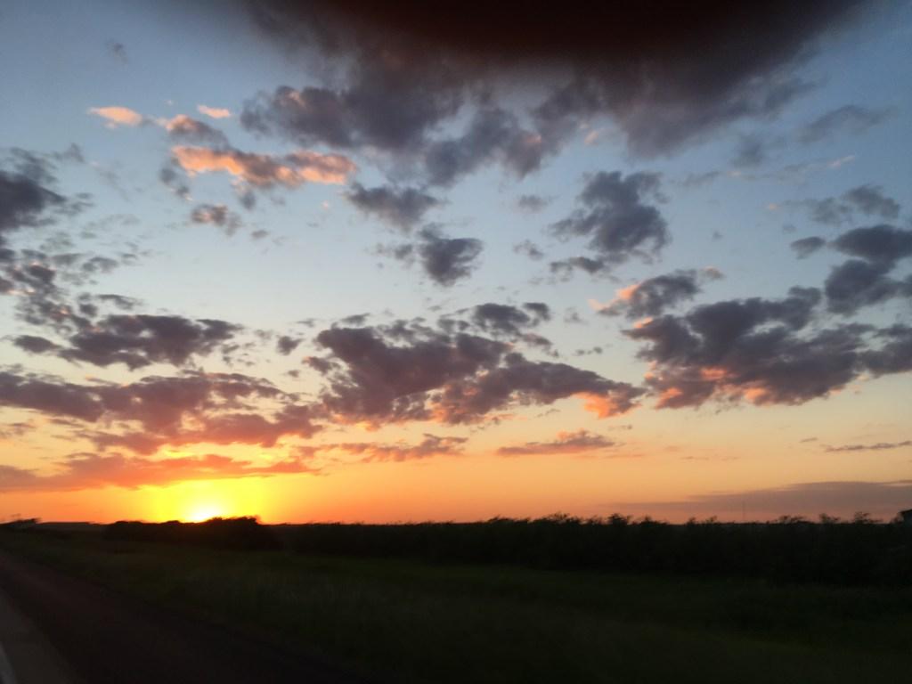 Sunset in Iowa