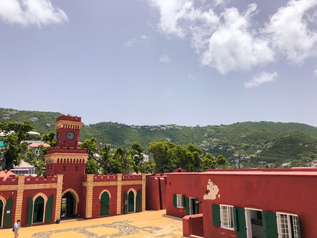 Fort Christian, St. Thomas | TheWeekendJetsetter.com