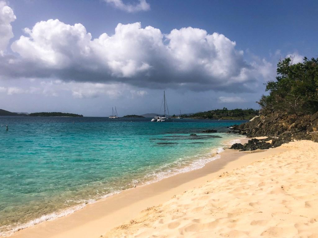 Honeymoon Beach Hike St. John | TheWeekendJetsetter.com