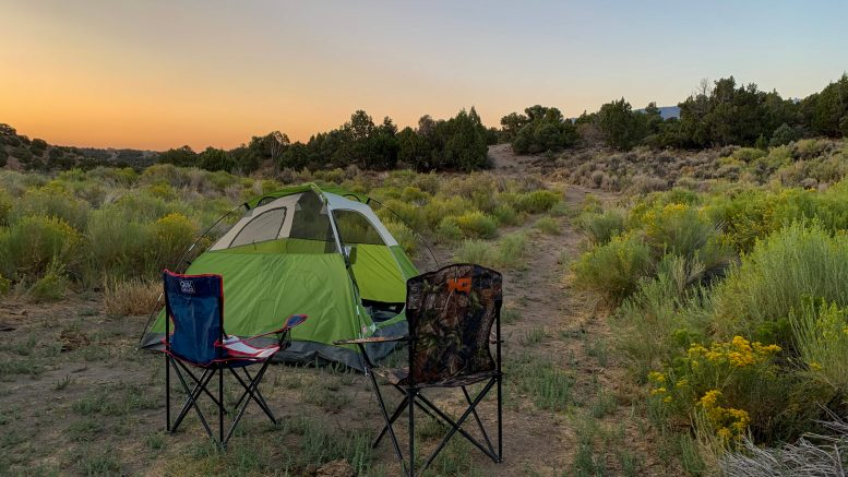 Travel During COVID-19, pandemic safe travel, Camping, Nevada